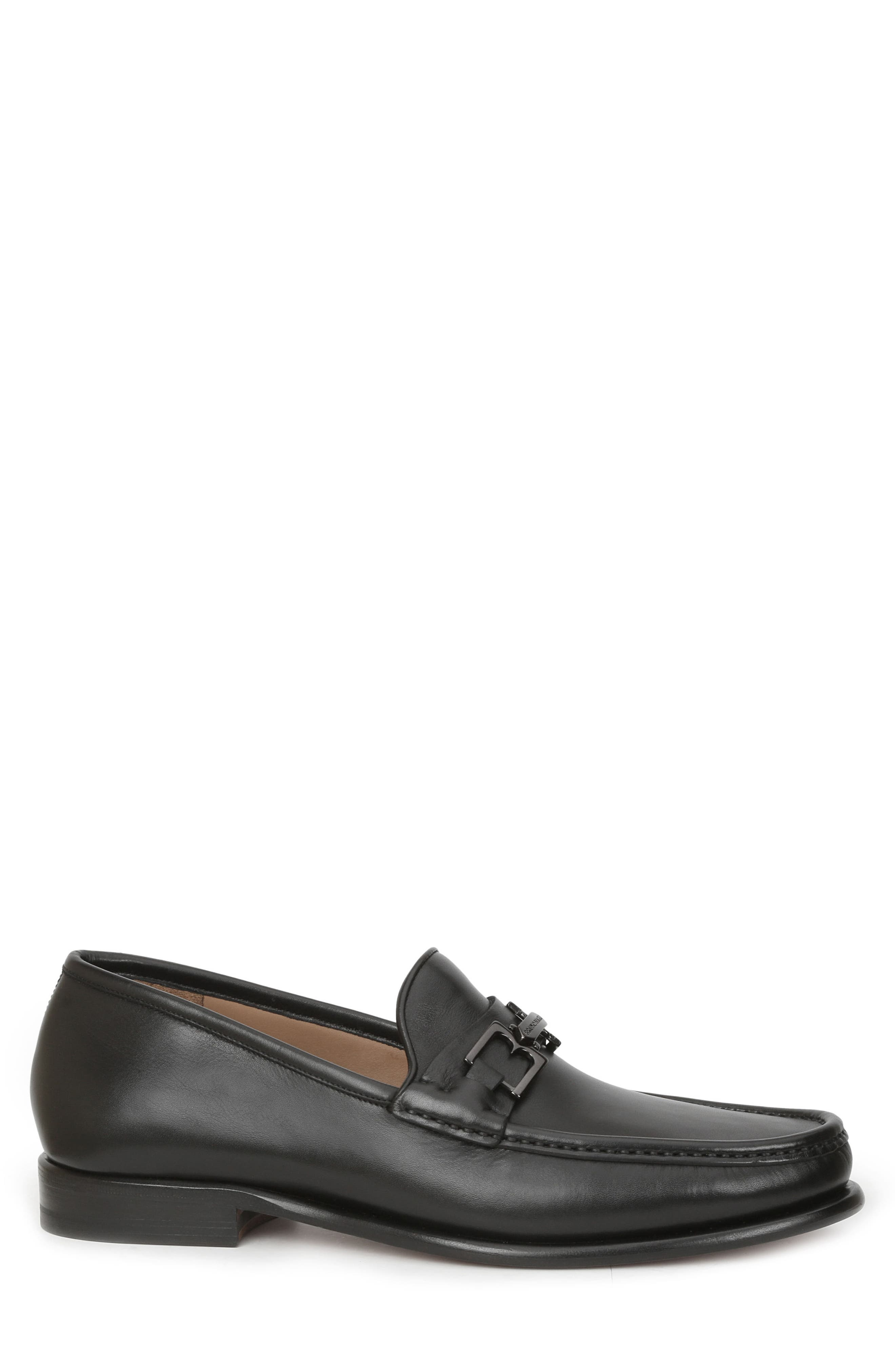 Enzo Bit Loafer,                             Alternate thumbnail 3, color,                             Black