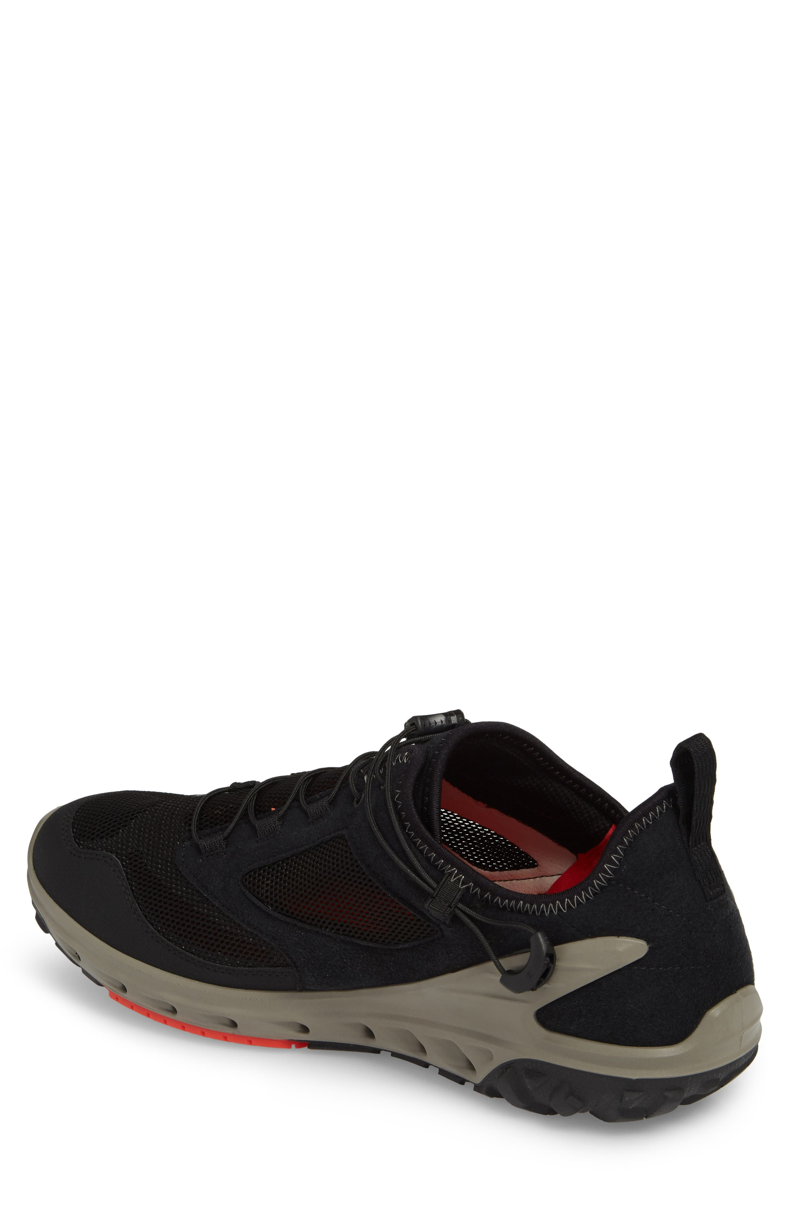 Biom Venture Sneaker,                             Alternate thumbnail 2, color,                             Black Leather