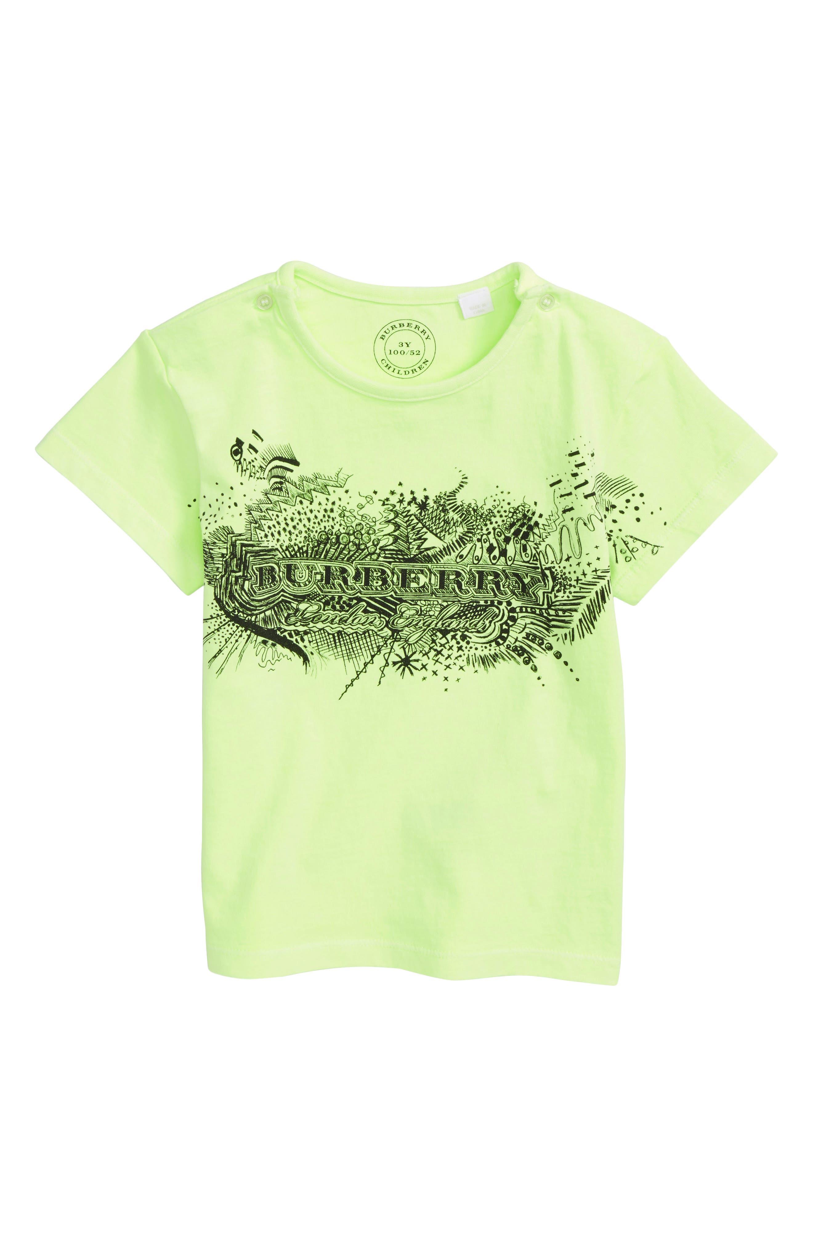 Burberry Mini Rydon Print Cotton T-Shirt (Baby Boys & Toddler Boys)