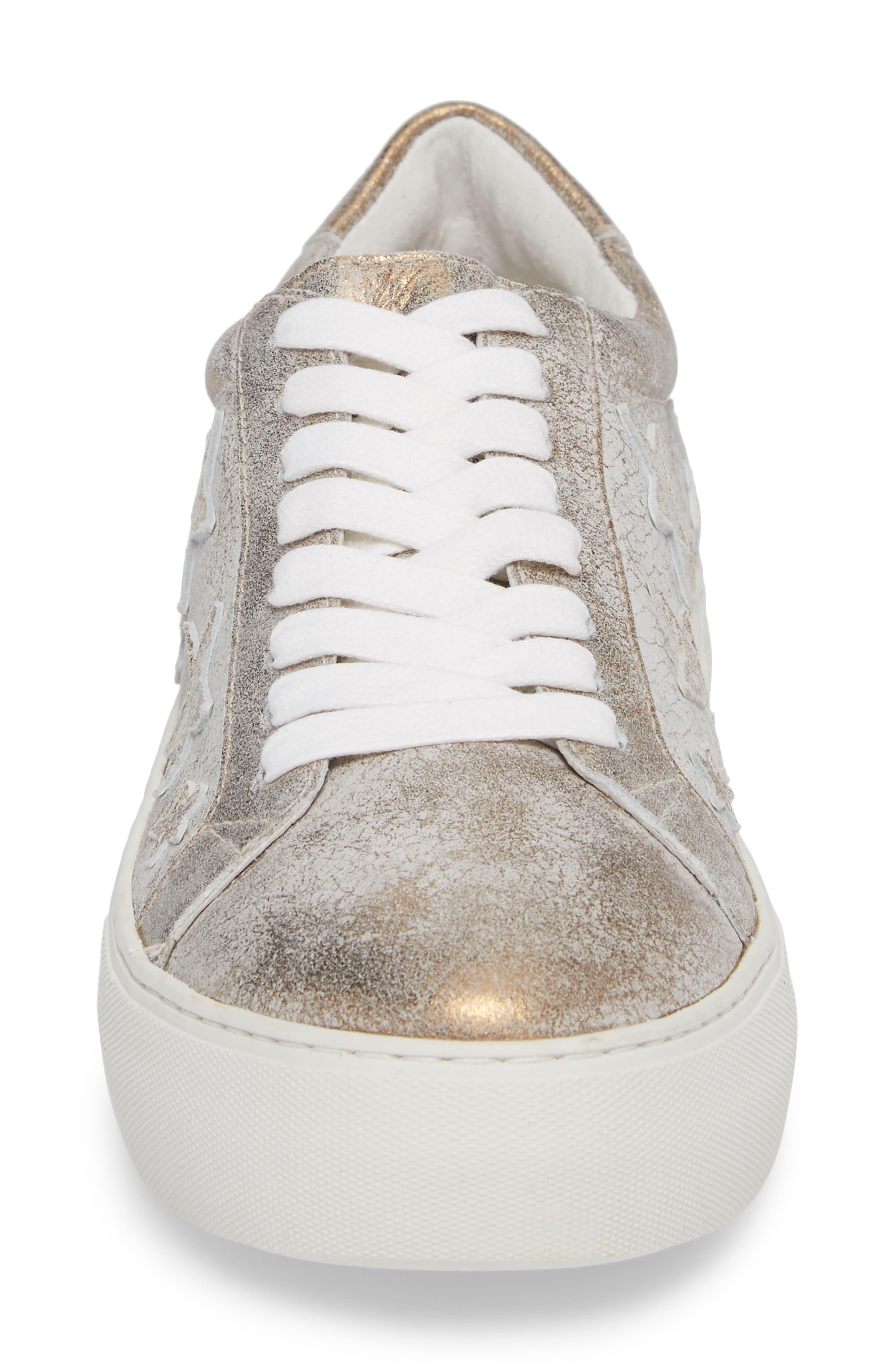 Apostle Sneaker,                             Alternate thumbnail 4, color,                             Bronze Suede