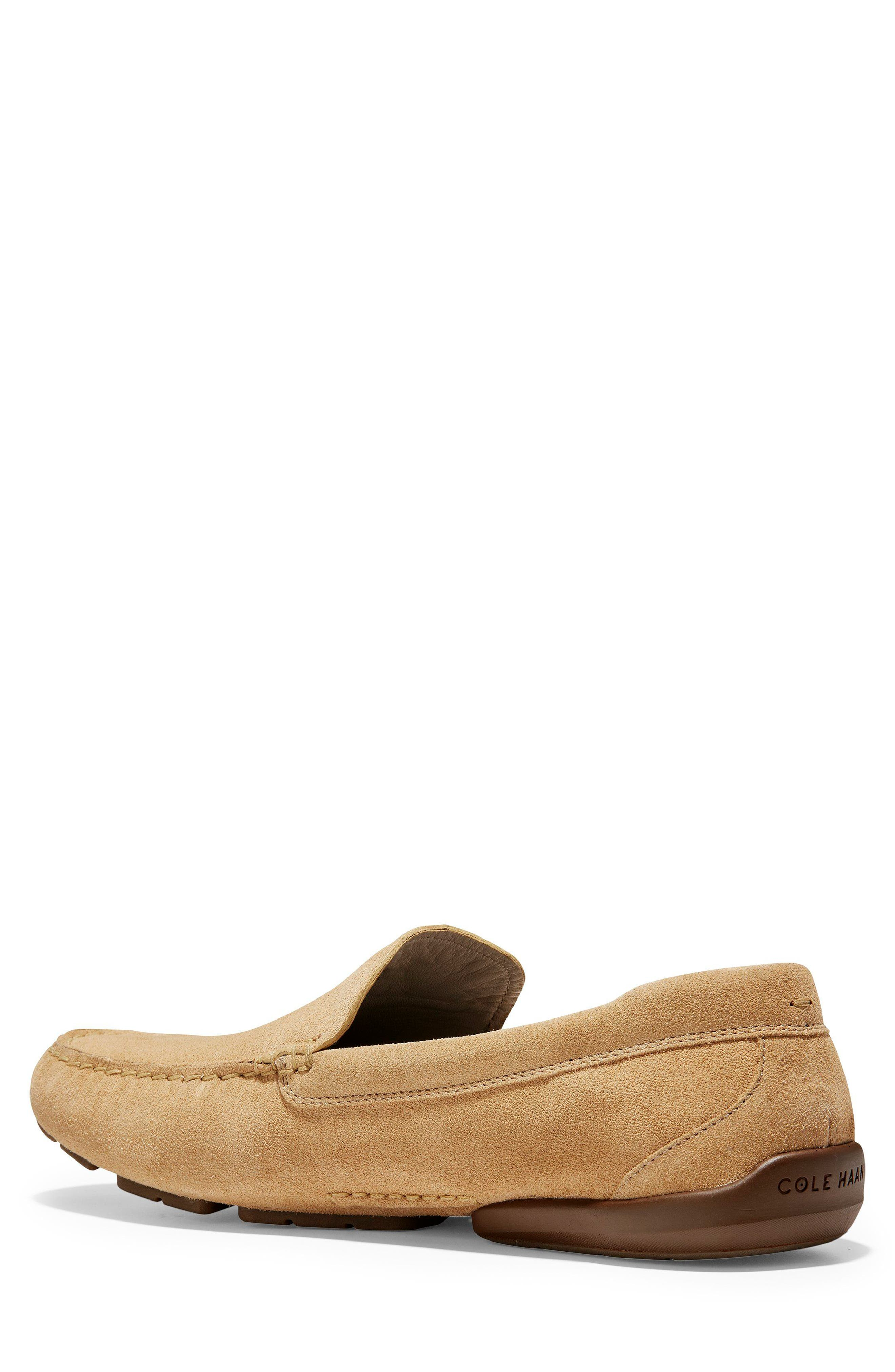 Branson Driving Shoe,                             Alternate thumbnail 2, color,                             Iced Coffee Suede