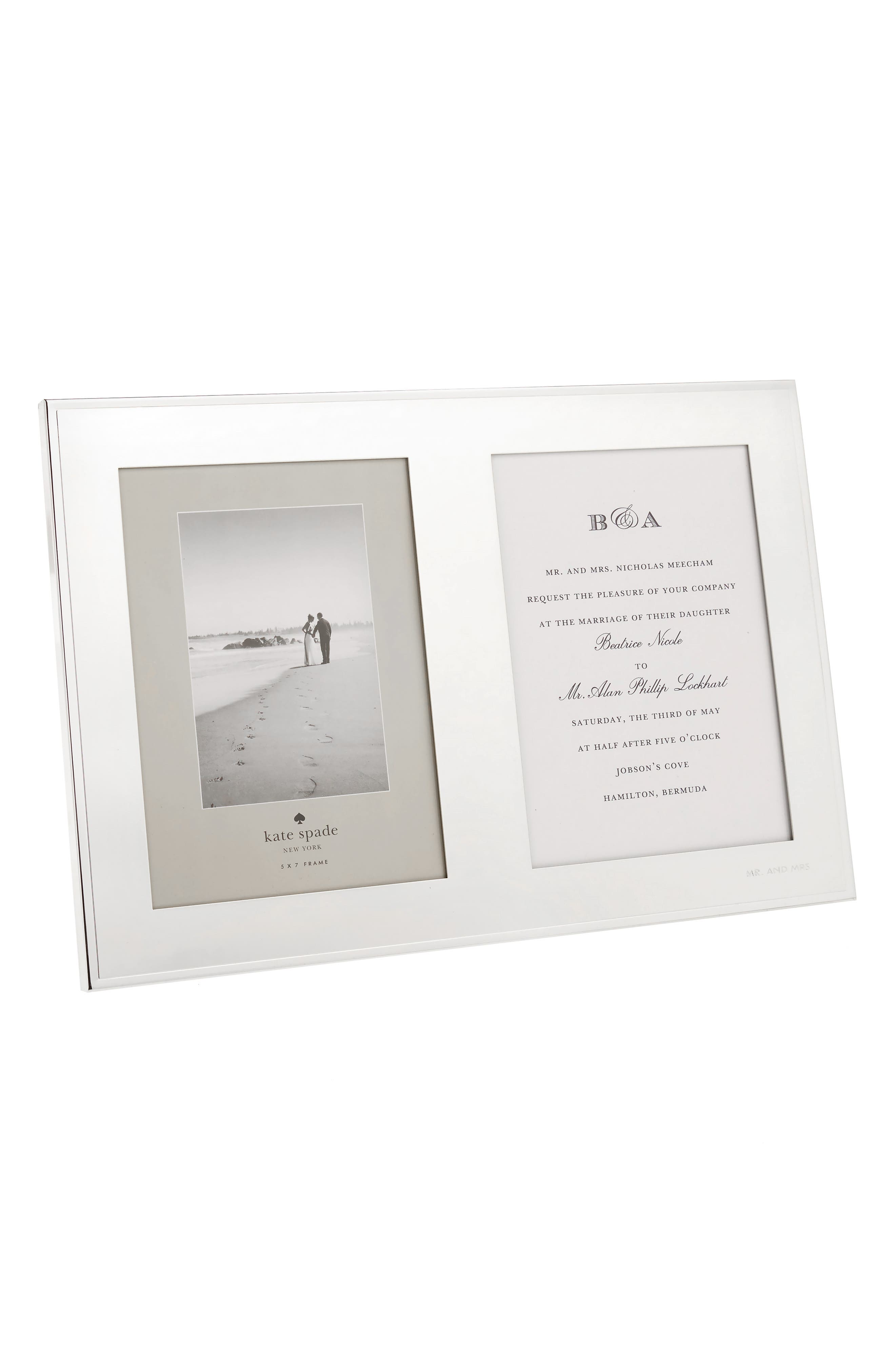 Alternate Image 1 Selected - kate spade new york darling point picture frame