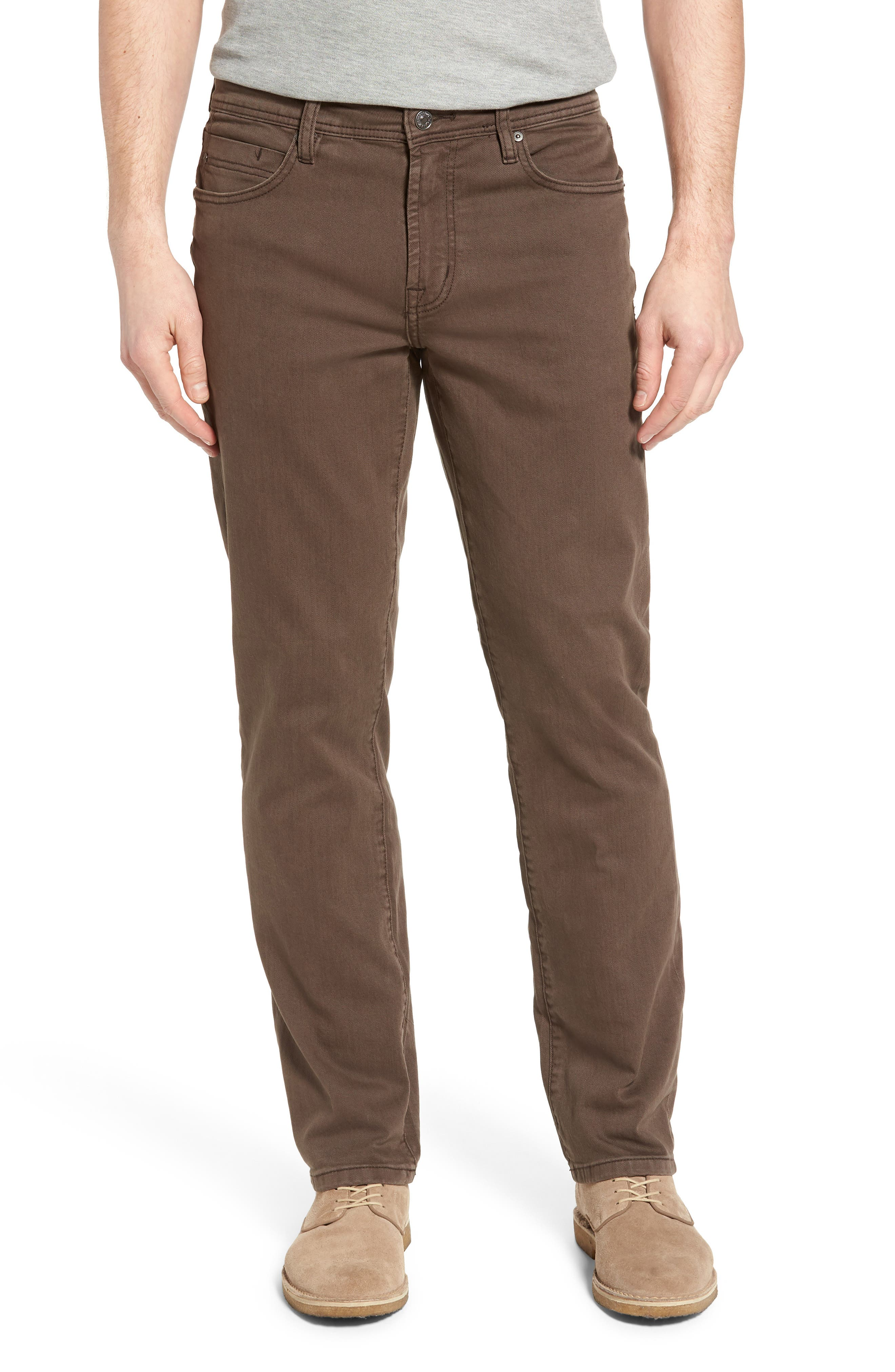 Jeans Co. Regent Relaxed Fit Jeans,                         Main,                         color, Tobacco Leaf