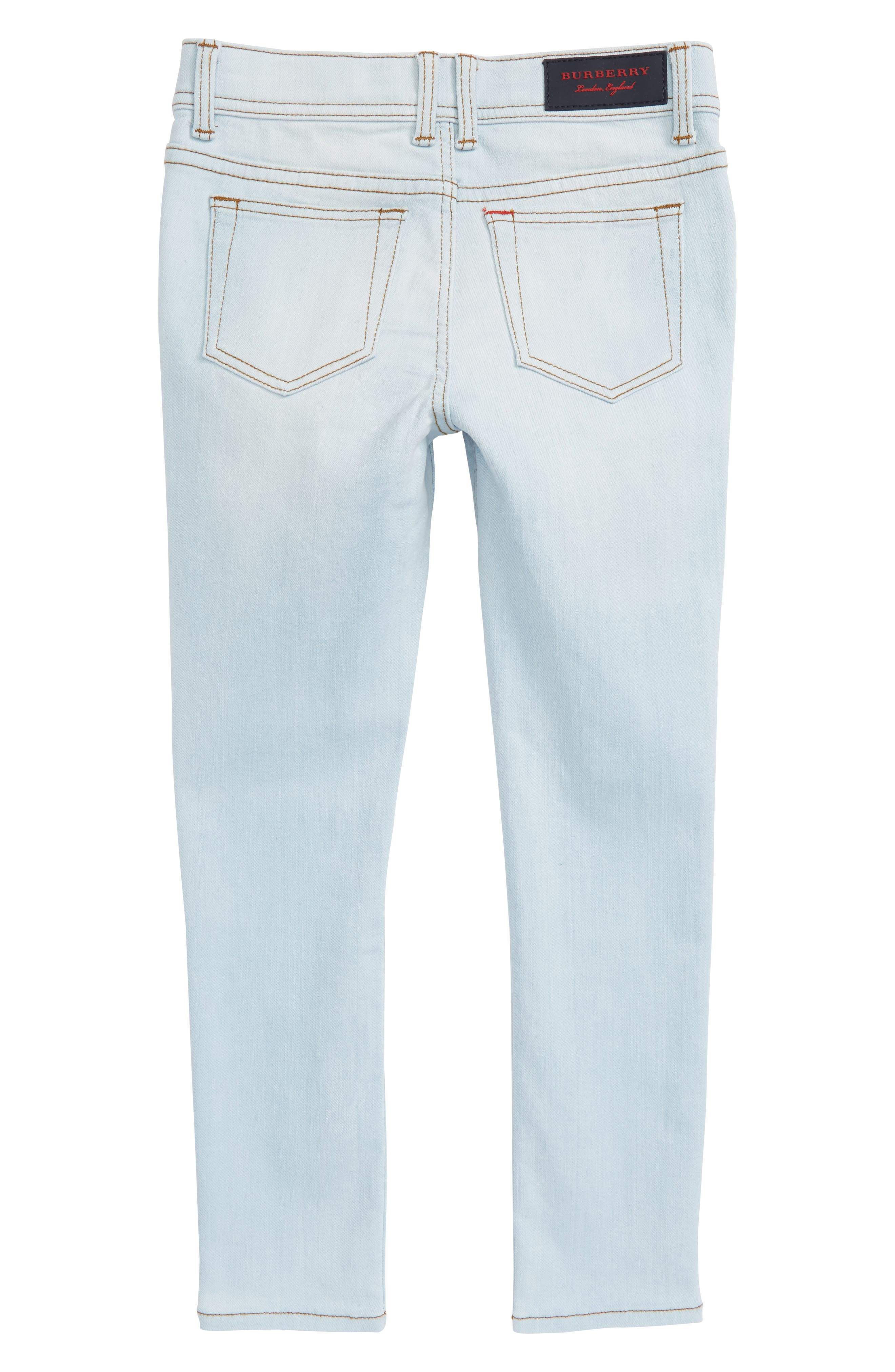 Skinny Jeans,                             Alternate thumbnail 2, color,                             Light Blue