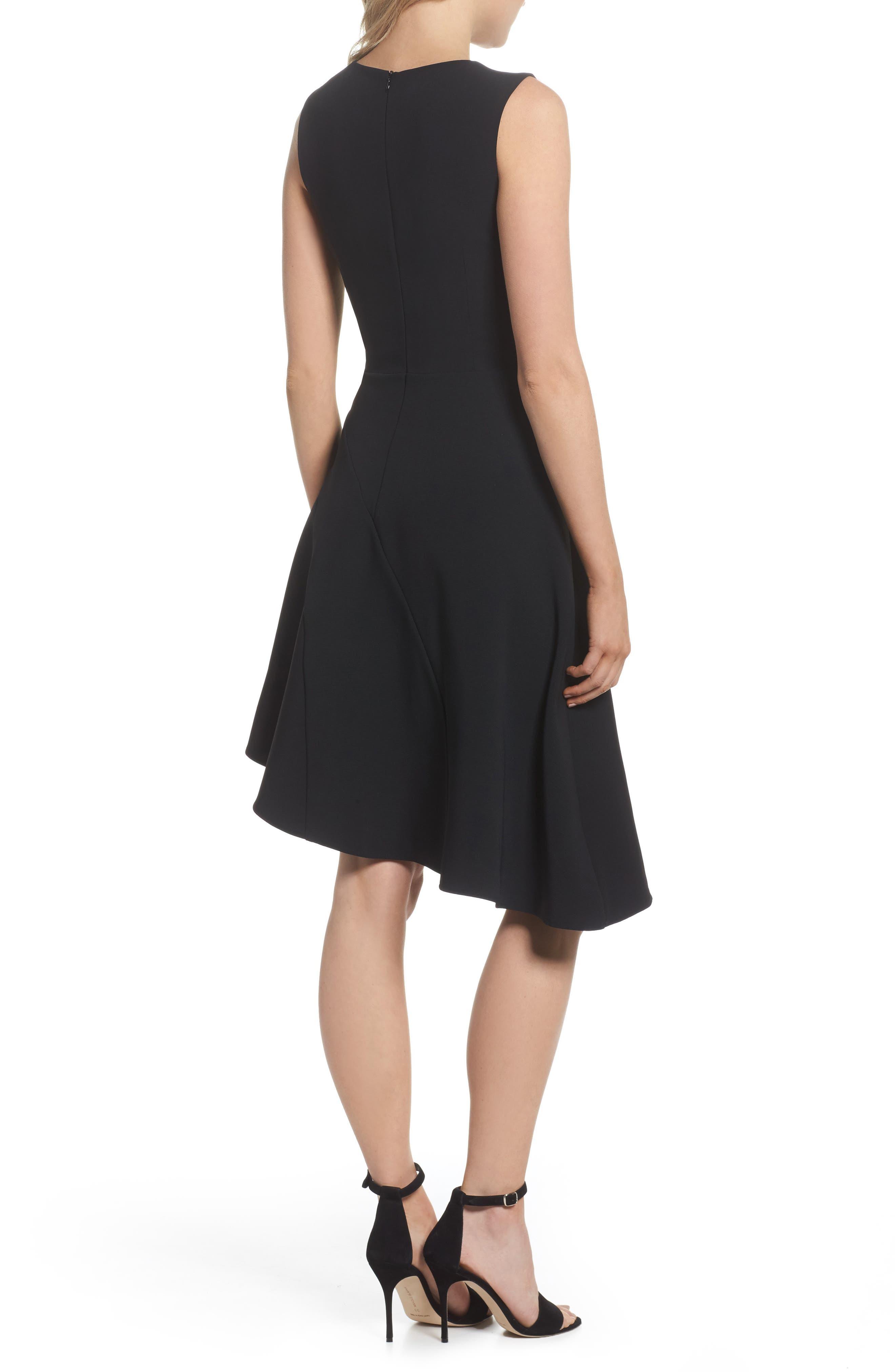Alternate Image 2  - Adelyn Rae Bonnie Asymmetrical Fit & Flare Dress
