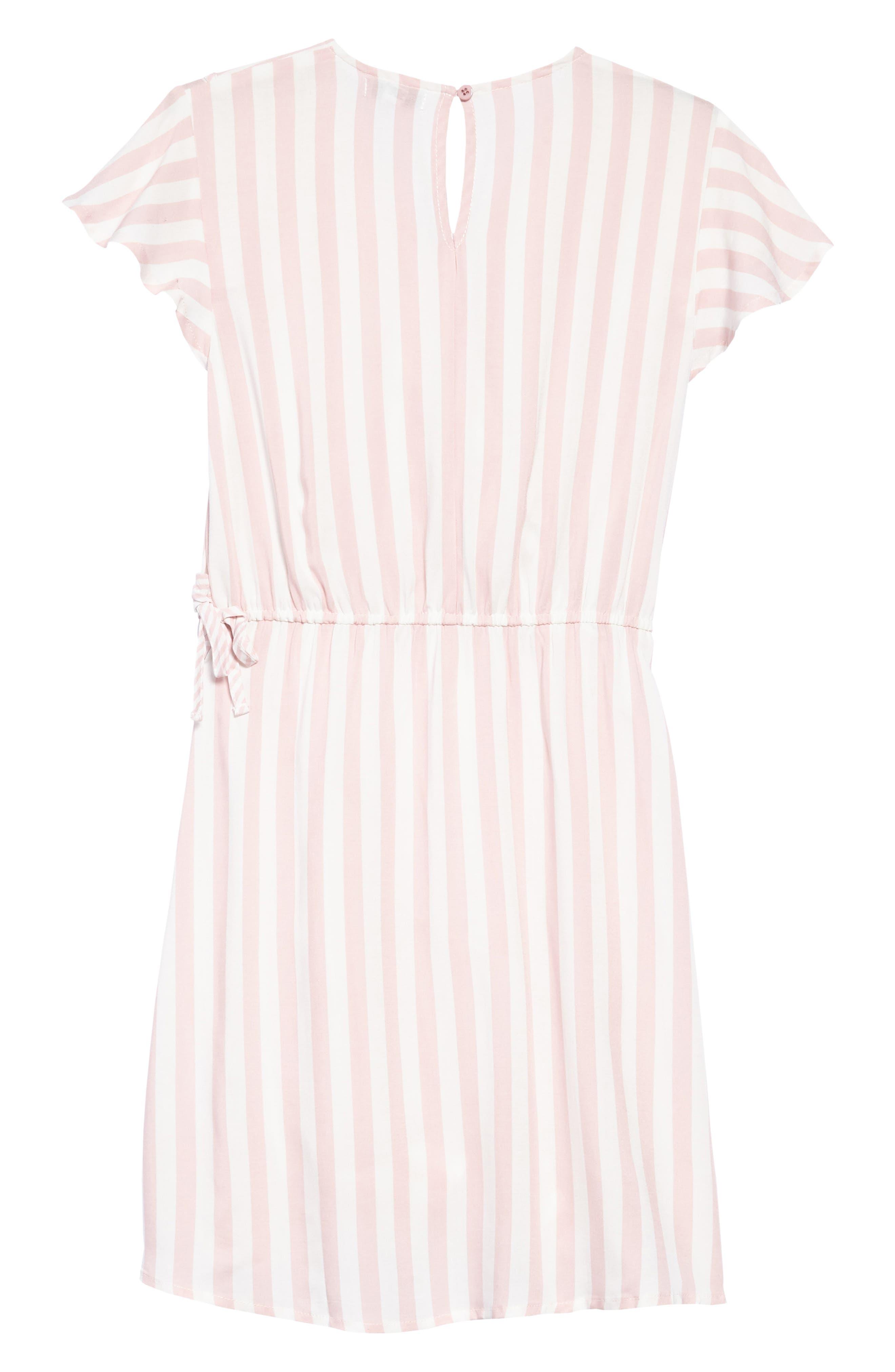 Alternate Image 3  - Love, Fire Print Wrap Dress (Big Girls)