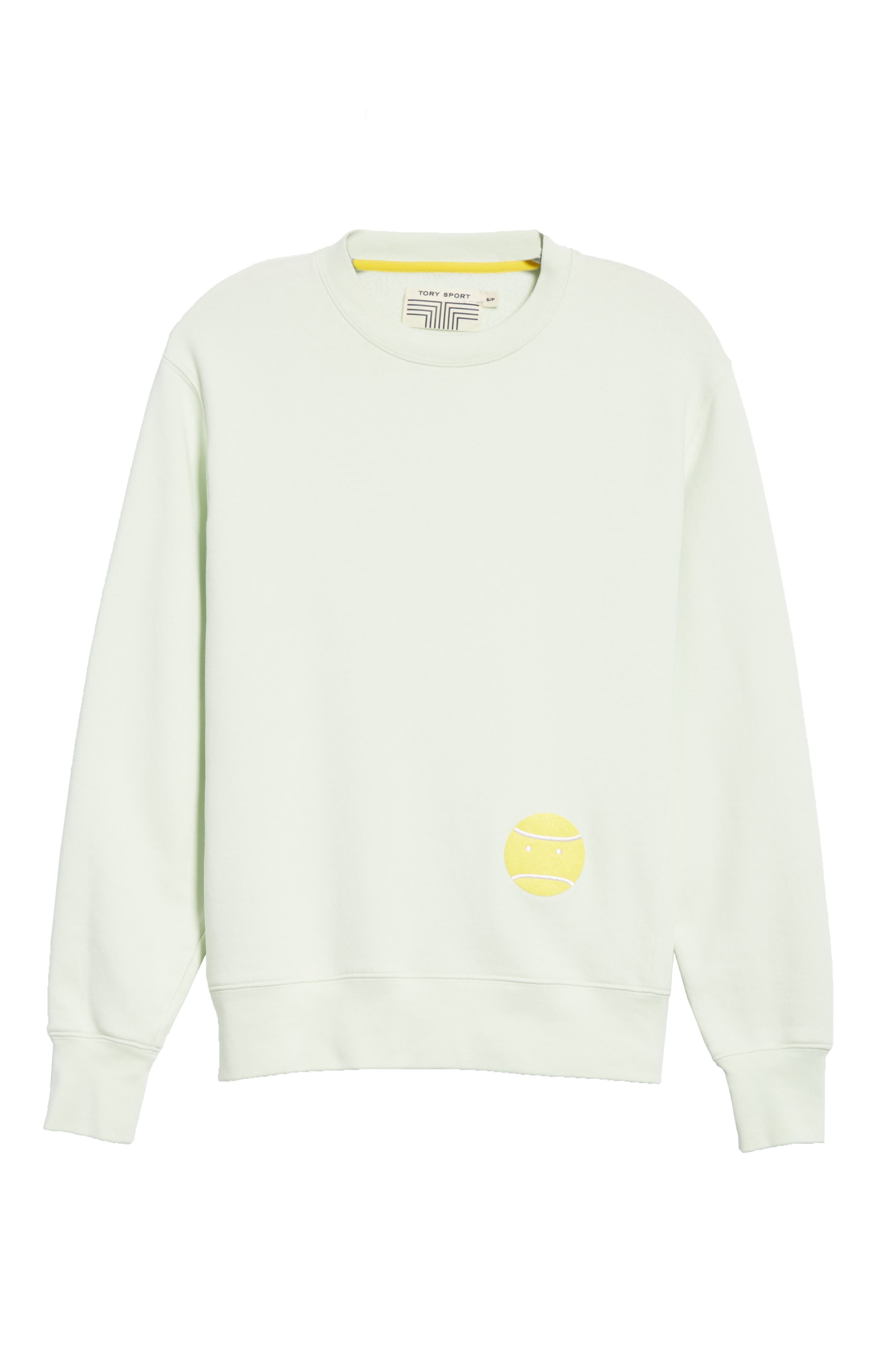 Little Grump French Terry Sweatshirt,                             Alternate thumbnail 6, color,                             Fresh Mint