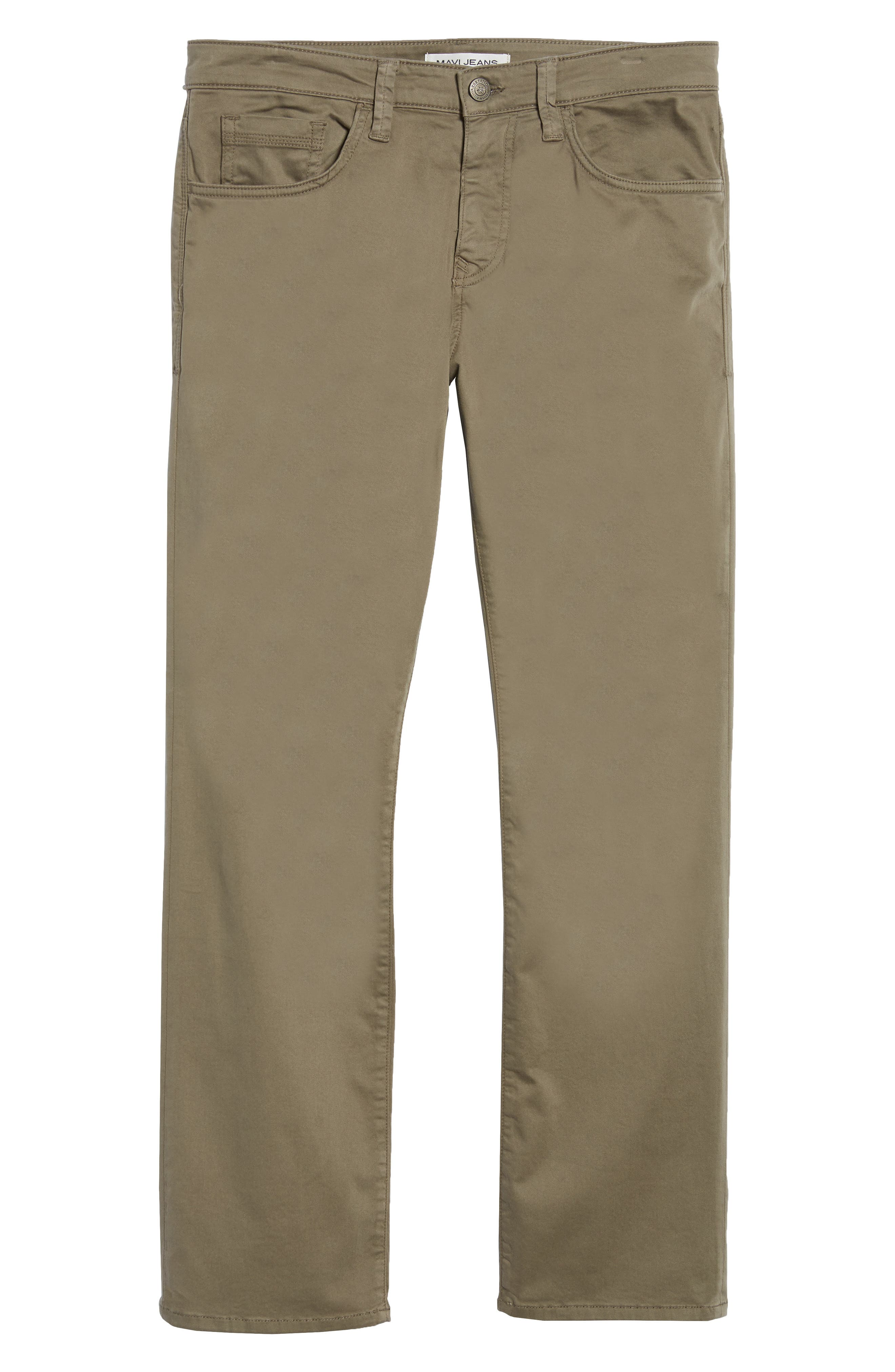 Matt Relaxed Fit Twill Pants,                             Alternate thumbnail 6, color,                             Dusty Olive