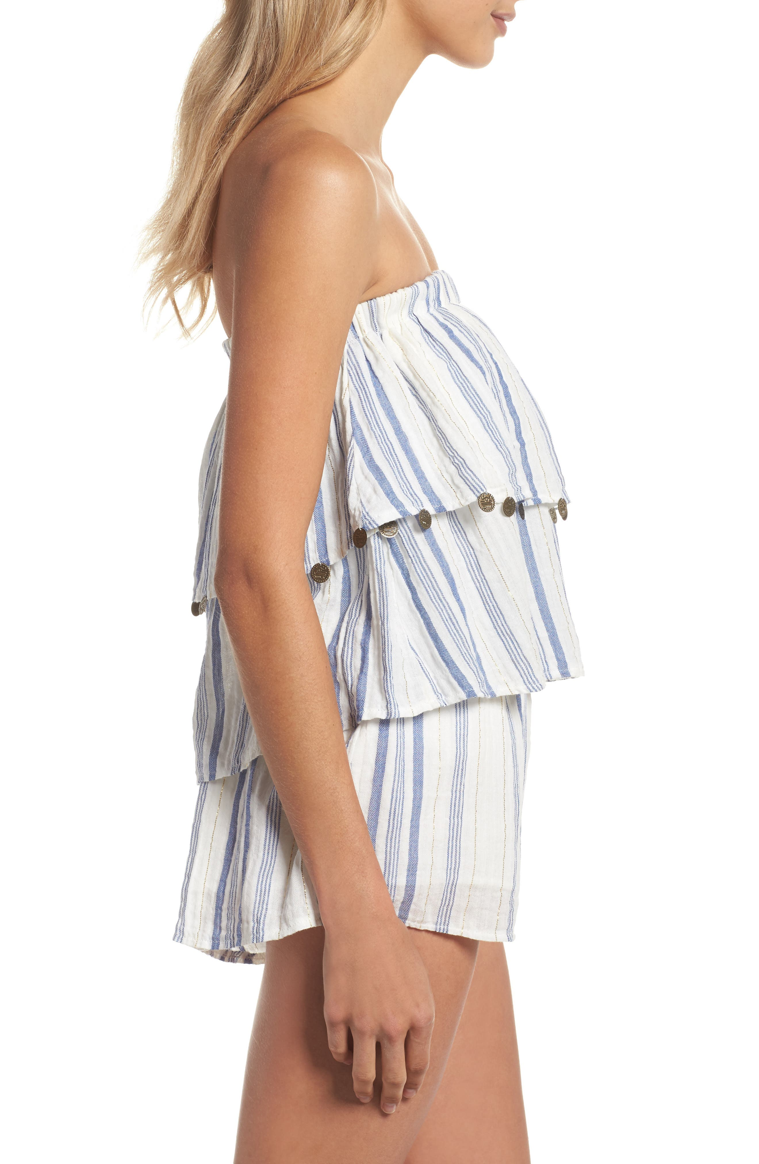 Alternate Image 3  - Surf Gypsy Bali Cover-Up Romper