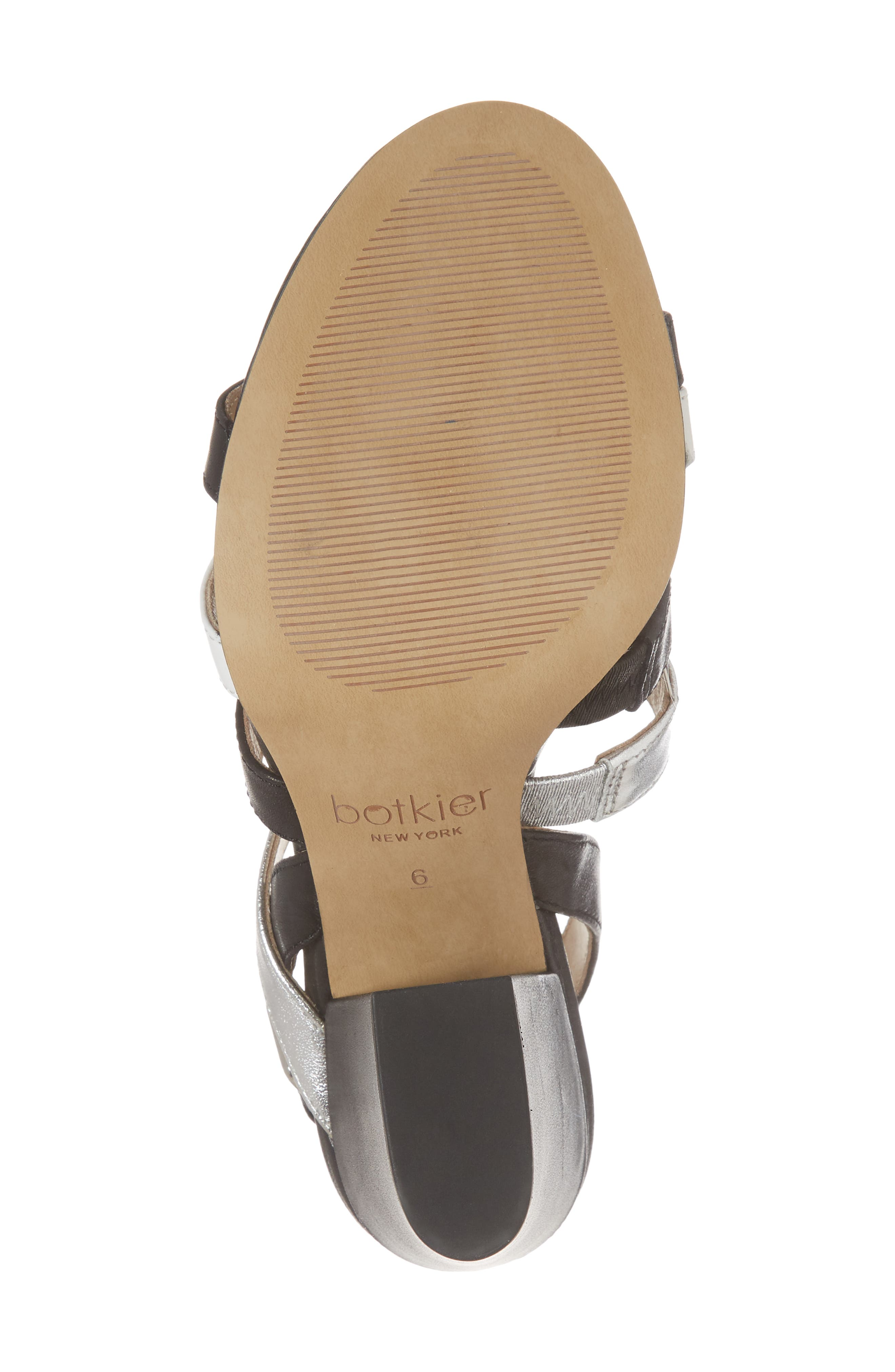 Sera Sandal,                             Alternate thumbnail 6, color,                             Black Multi Leather