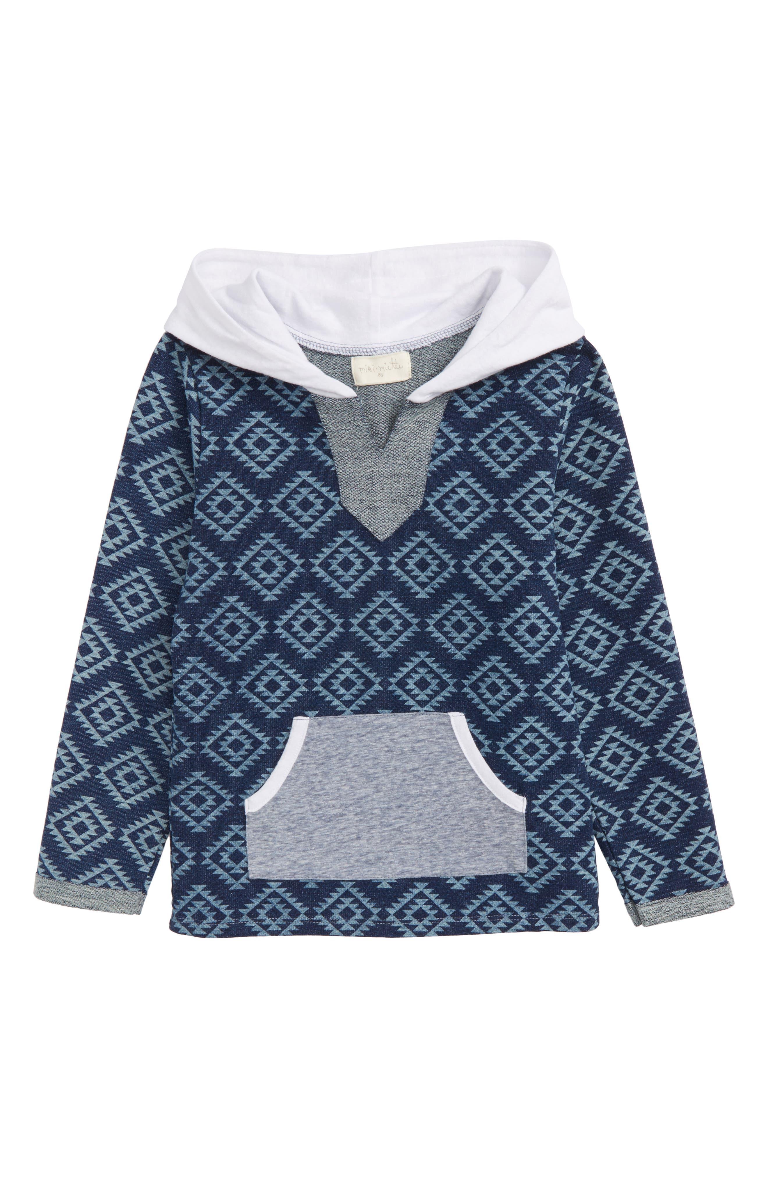 Alternate Image 1 Selected - Miki Miette Rico Sweatshirt (Toddler Boys, Little Boys & Big Boys)