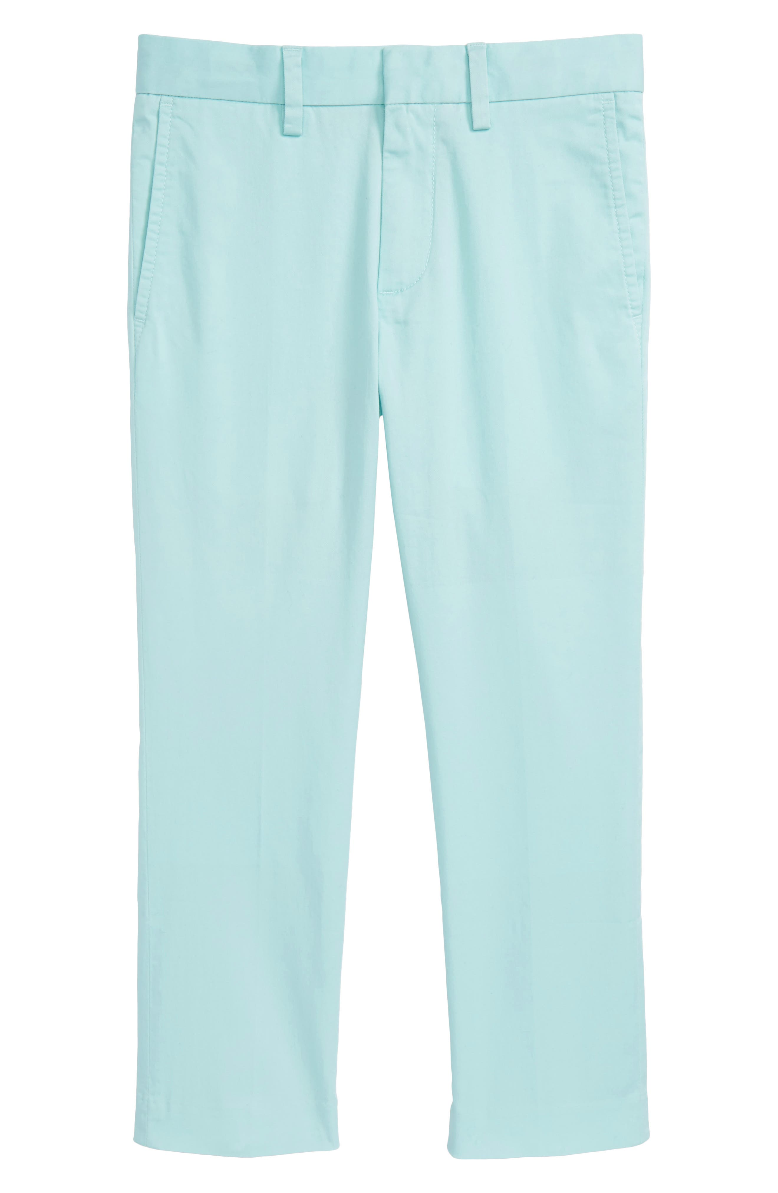 Slim Fit Stretch Chino Pants,                         Main,                         color, Sundrenched Aqua