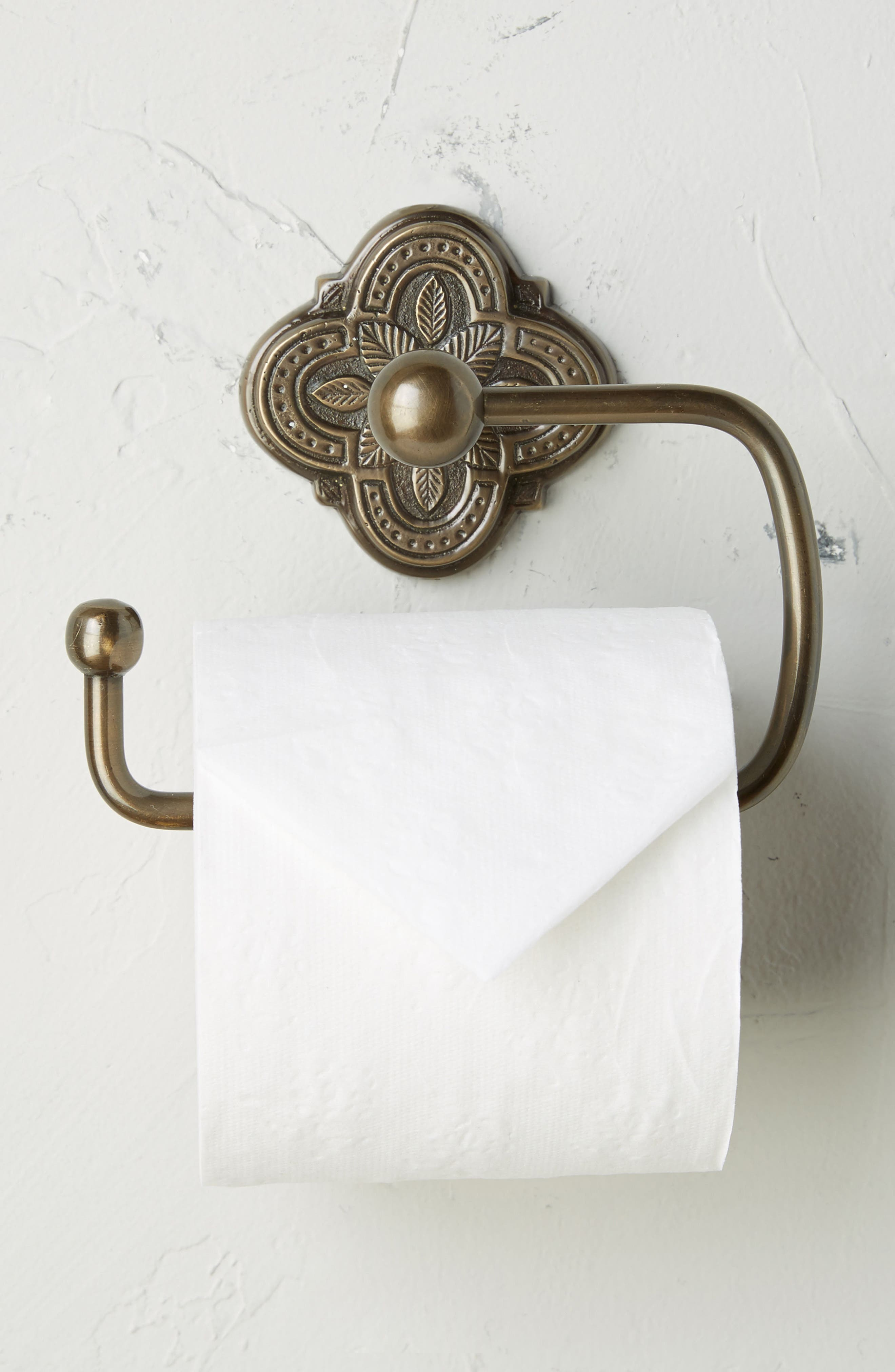 Ferriday Toilet Paper Holder,                         Main,                         color, Brown