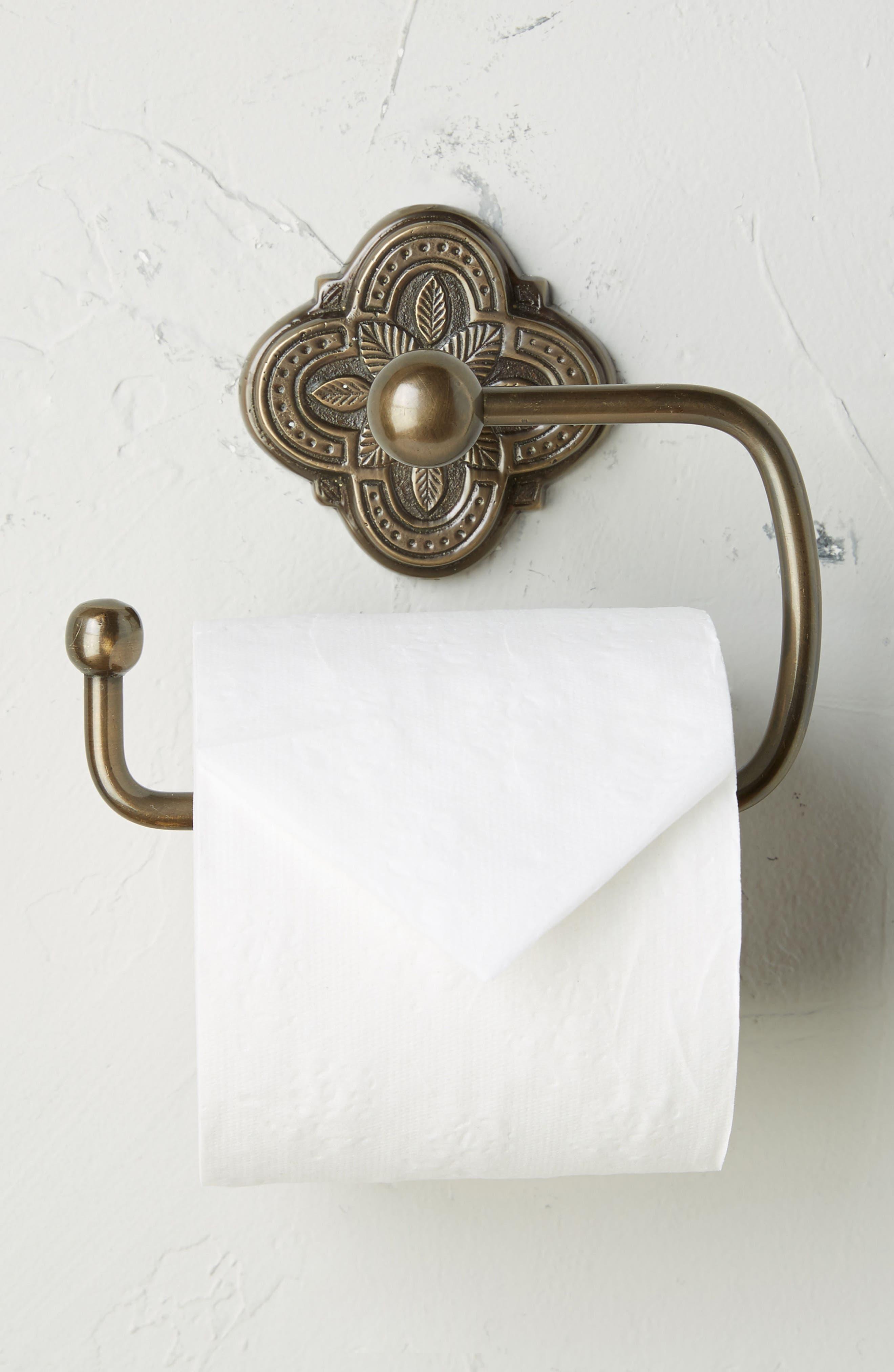Anthropologie Ferriday Toilet Paper Holder
