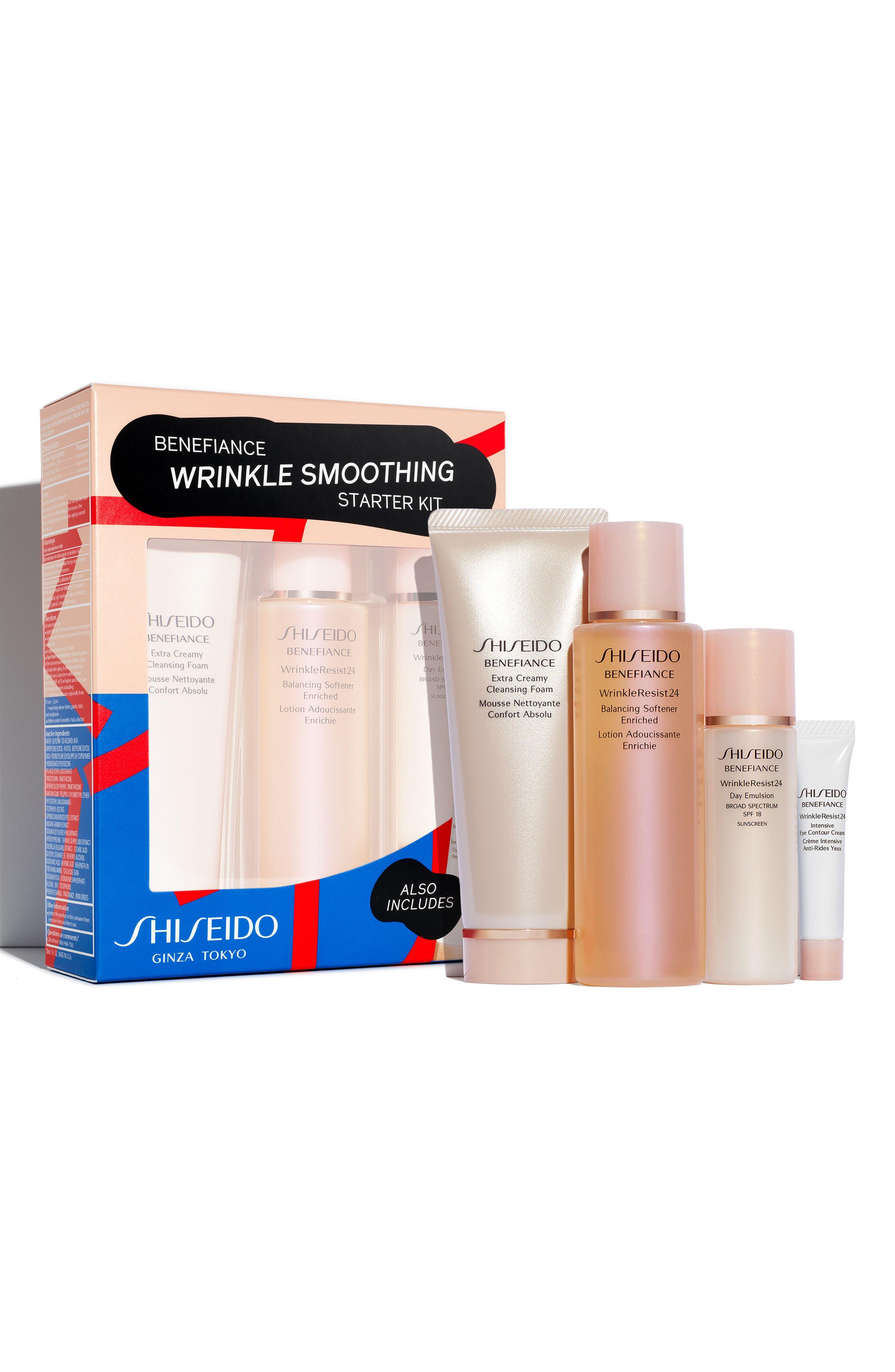Main Image - Shiseido Benefiance Wrinkle Smoothing Starter Kit ($96 Value)