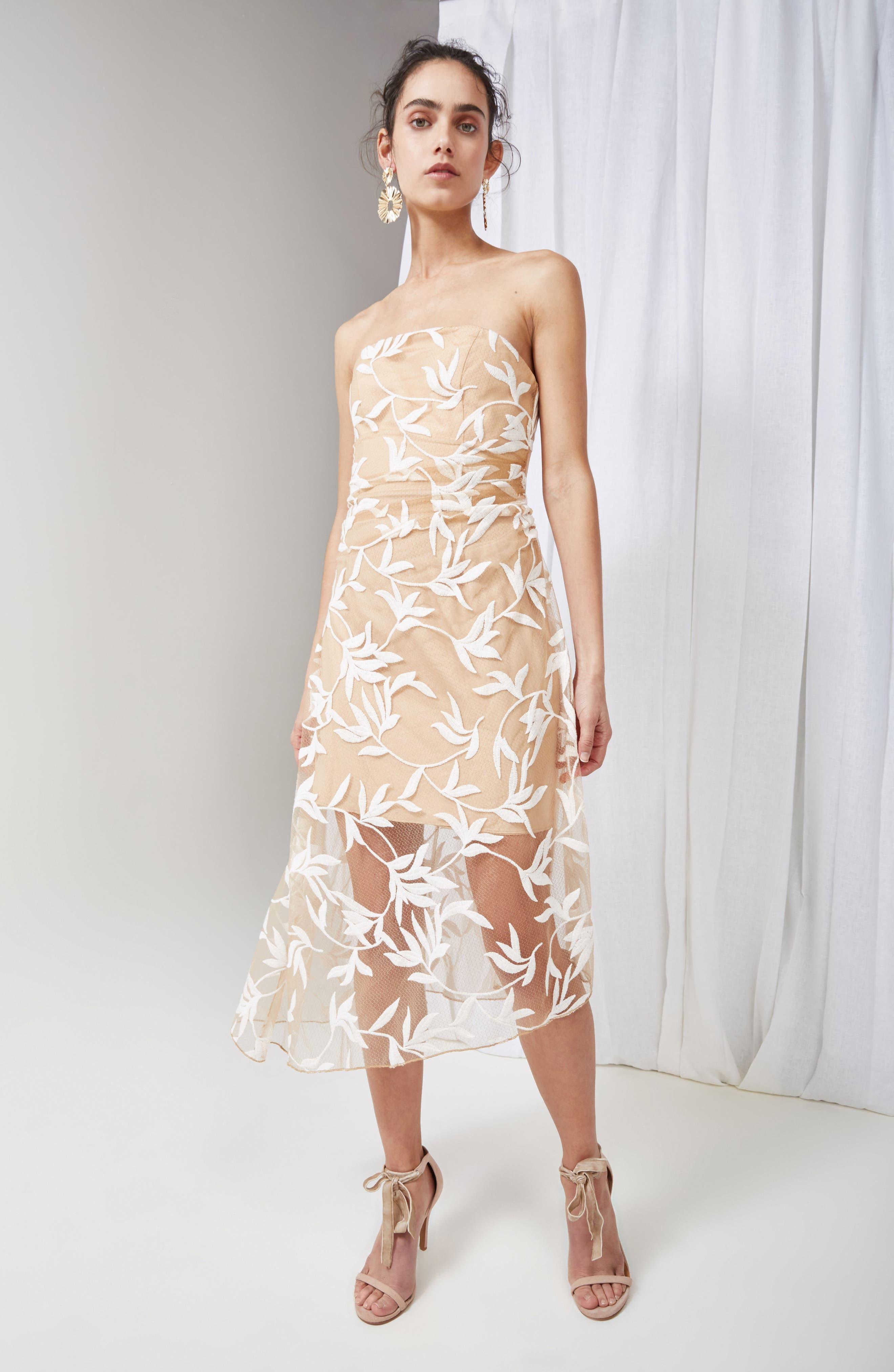 Alternate Image 7  - Keepsake the Label Fast Lanes Midi Dress