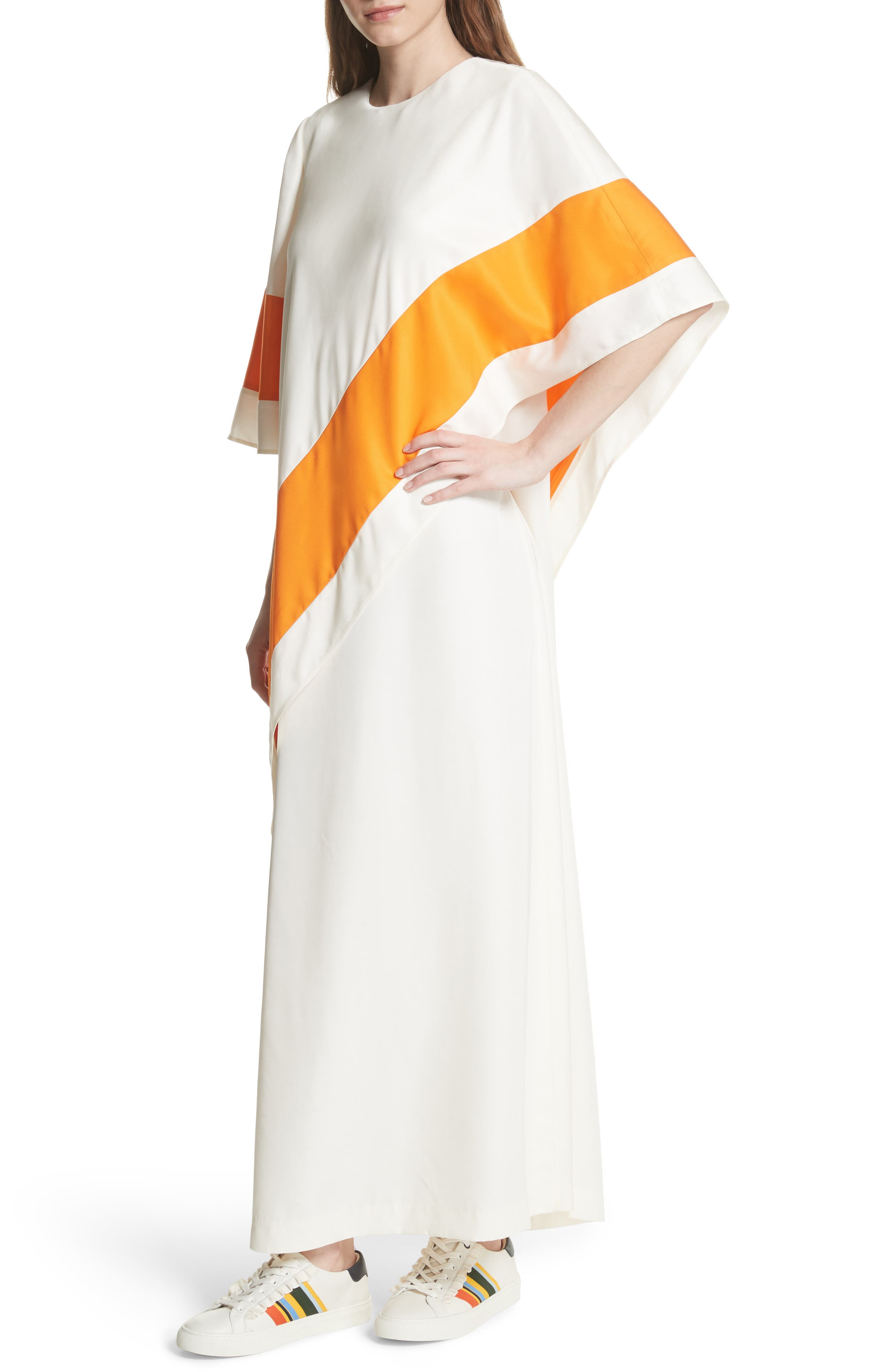 Ronnie Maxi Dress,                             Alternate thumbnail 4, color,                             New Ivory