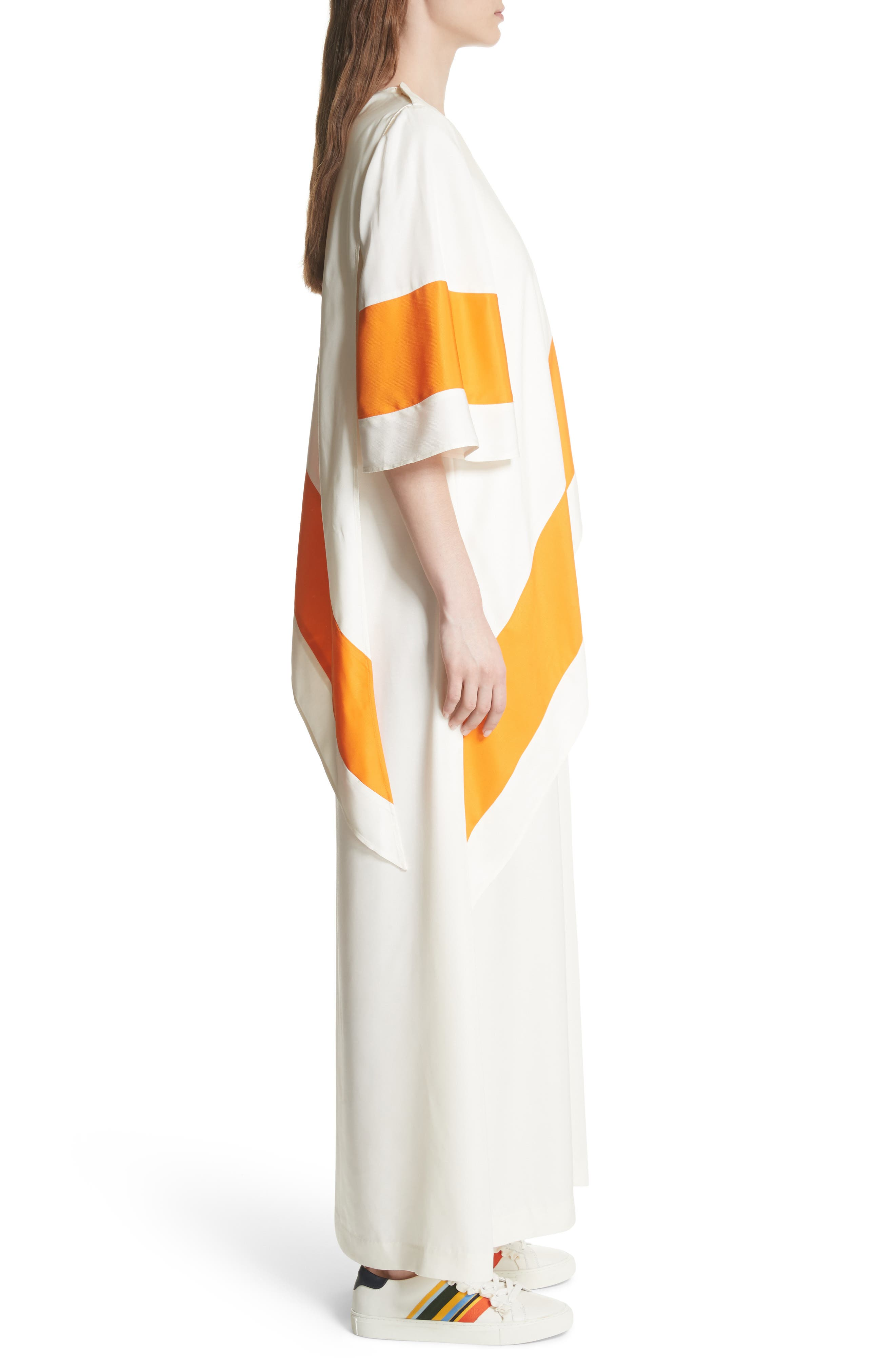 Ronnie Maxi Dress,                             Alternate thumbnail 3, color,                             New Ivory