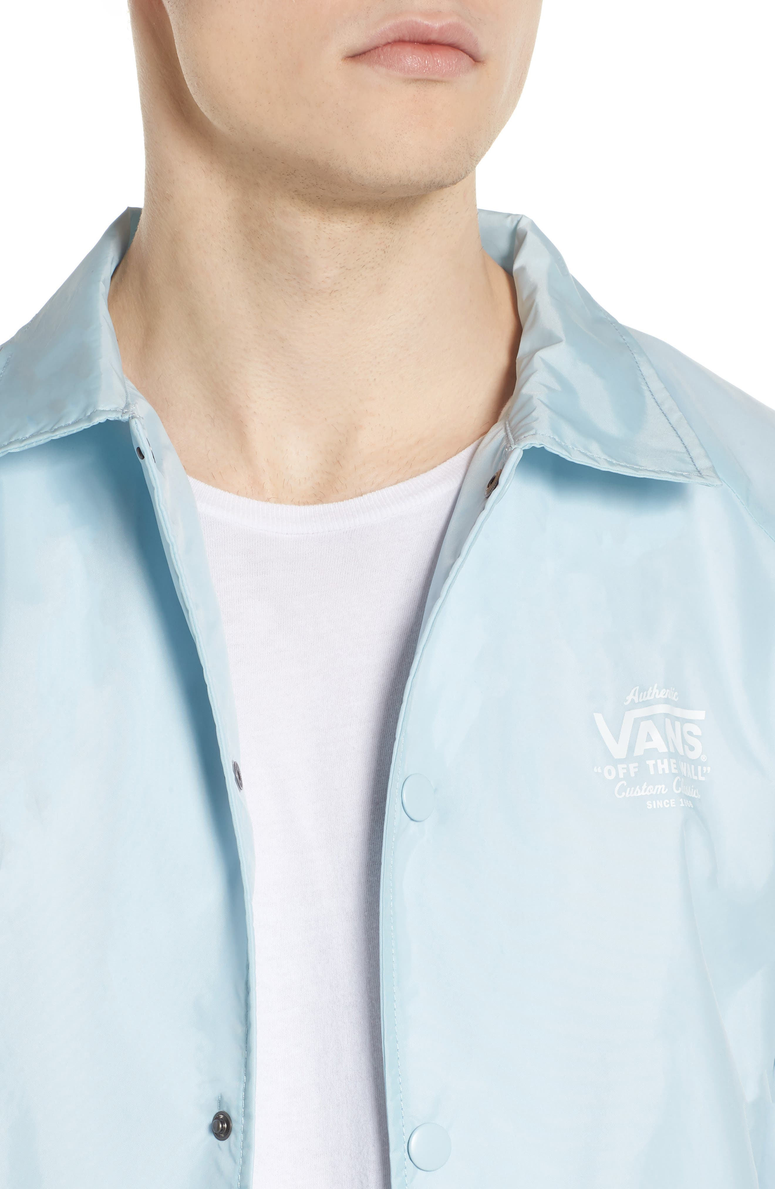 Torrey Water Resistant Jacket,                             Alternate thumbnail 4, color,                             Baby Blue