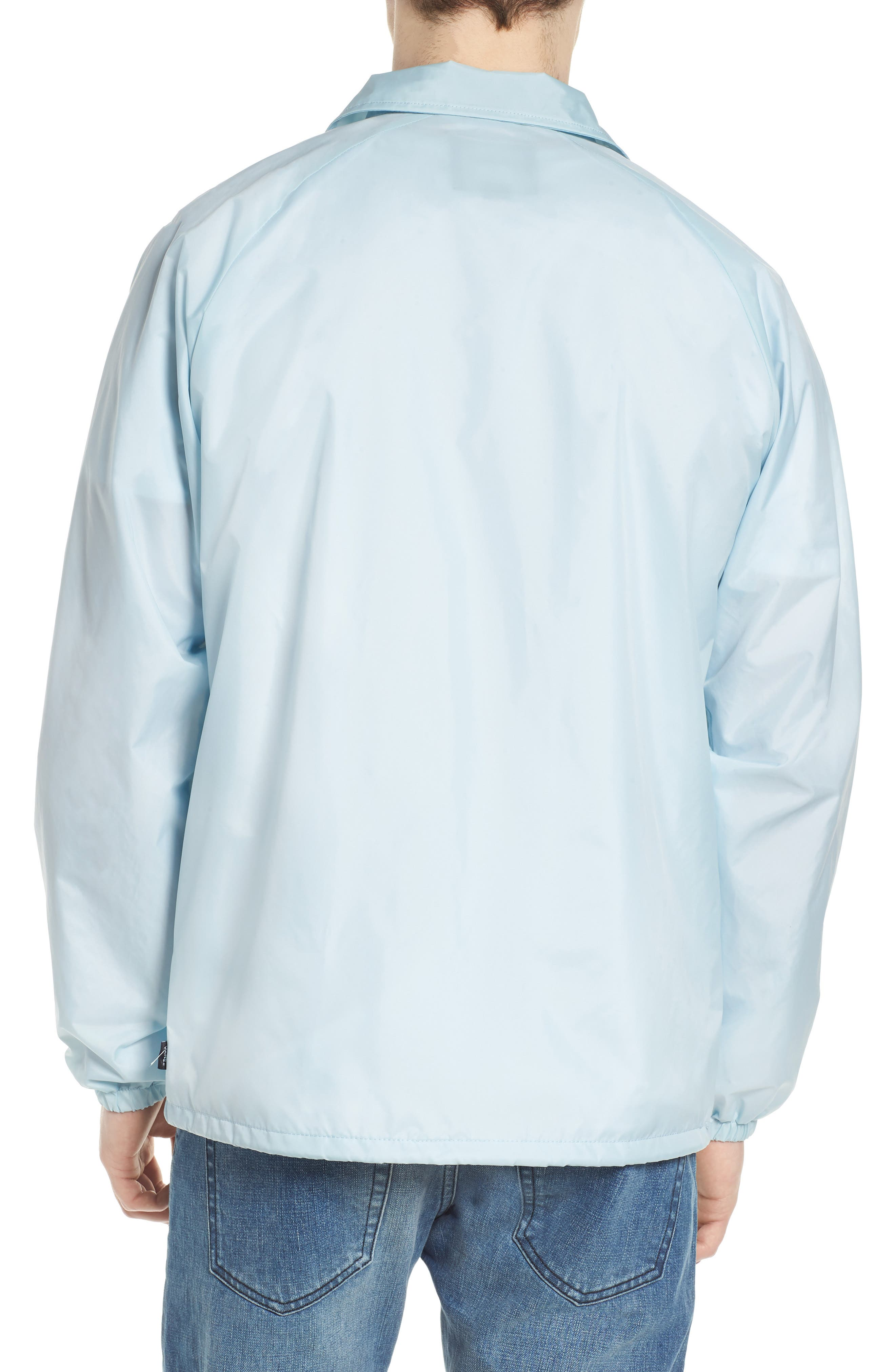 Torrey Water Resistant Jacket,                             Alternate thumbnail 2, color,                             Baby Blue