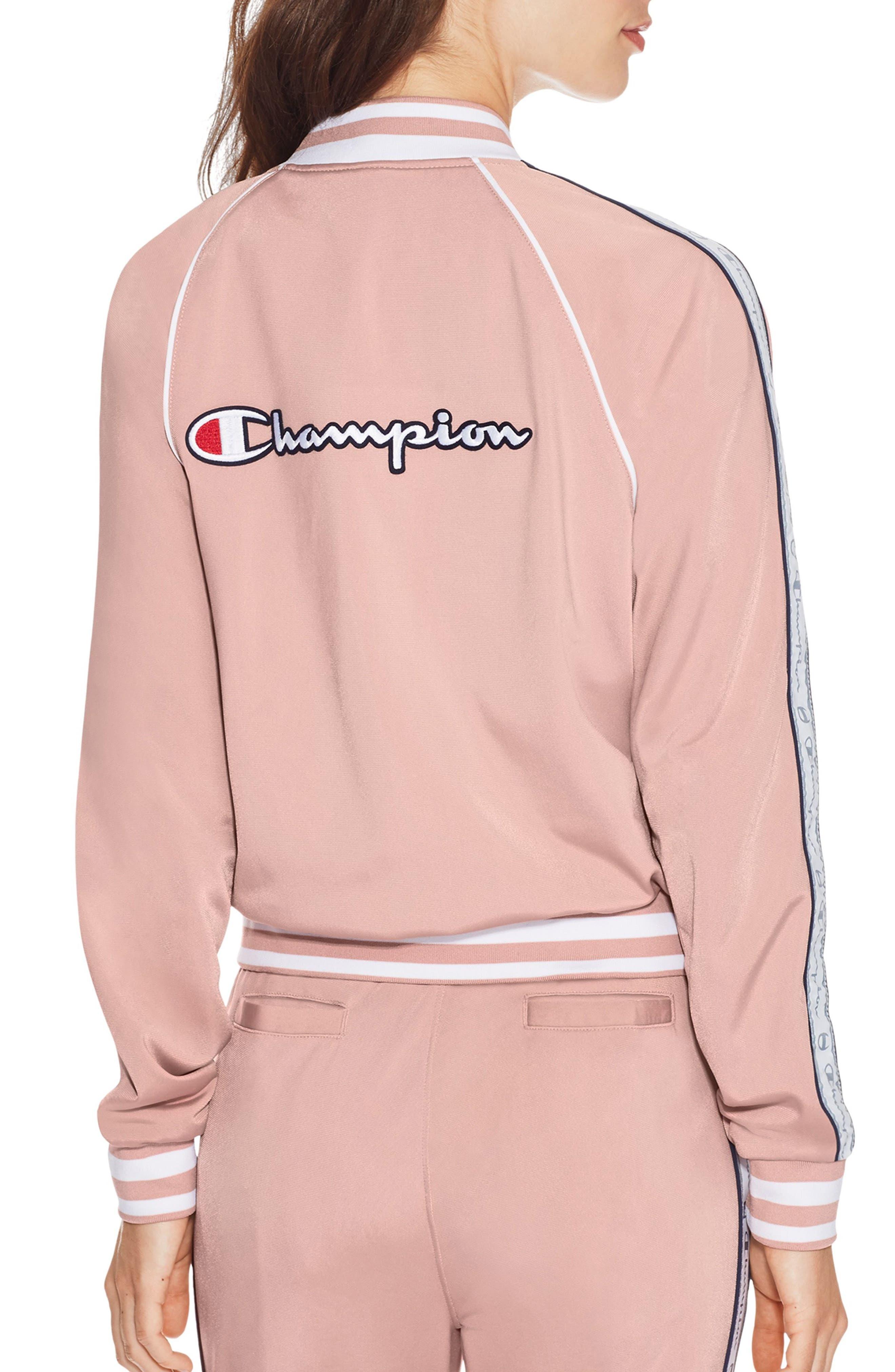 Track Jacket,                             Alternate thumbnail 2, color,                             Dream Pink