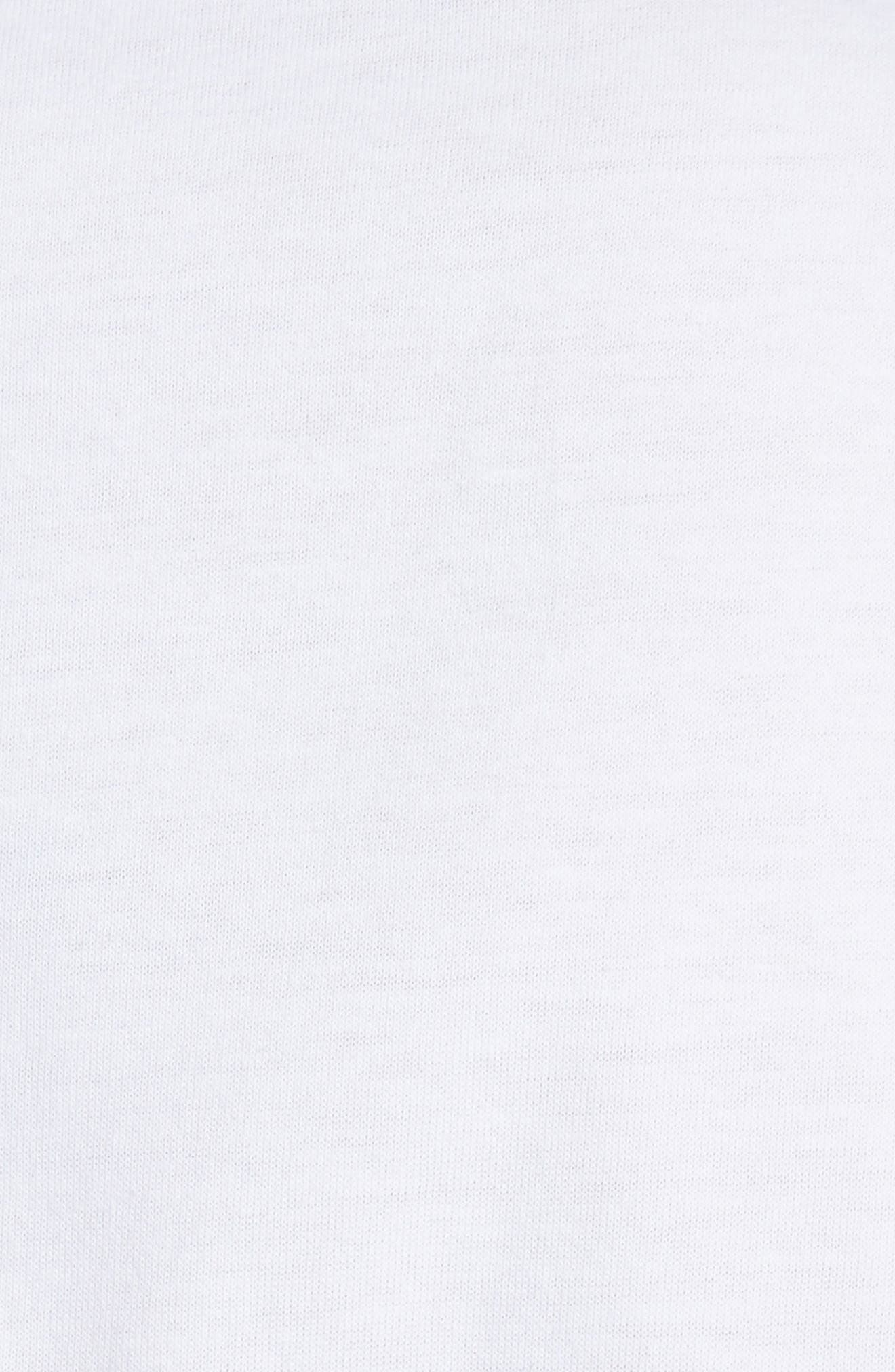 Savage Graphic T-Shirt,                             Alternate thumbnail 5, color,                             White