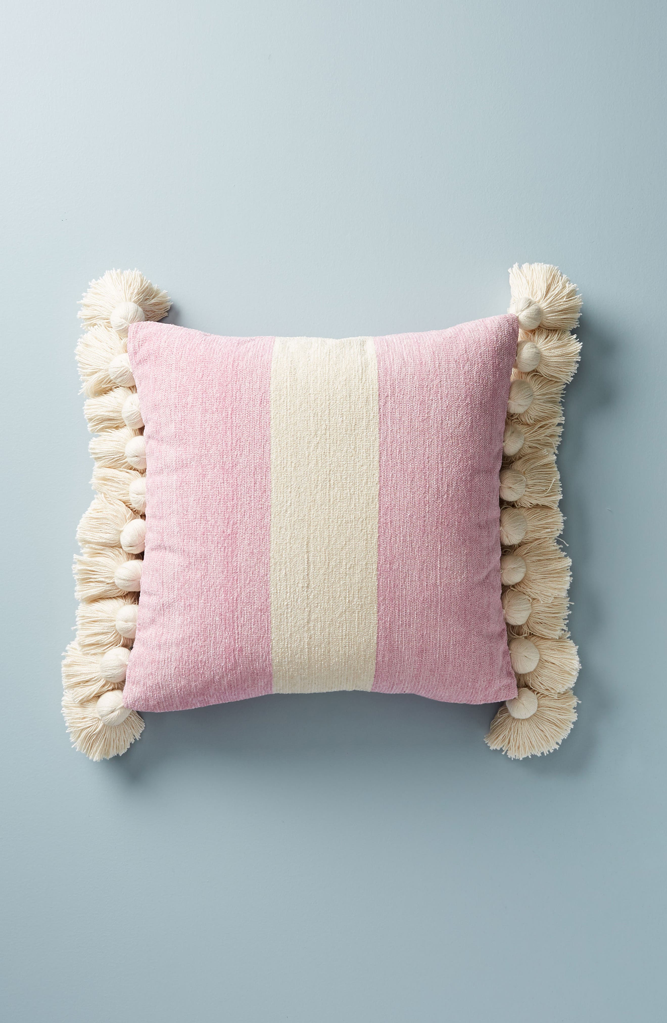Anthropologie Nadia Tassel Accent Pillow