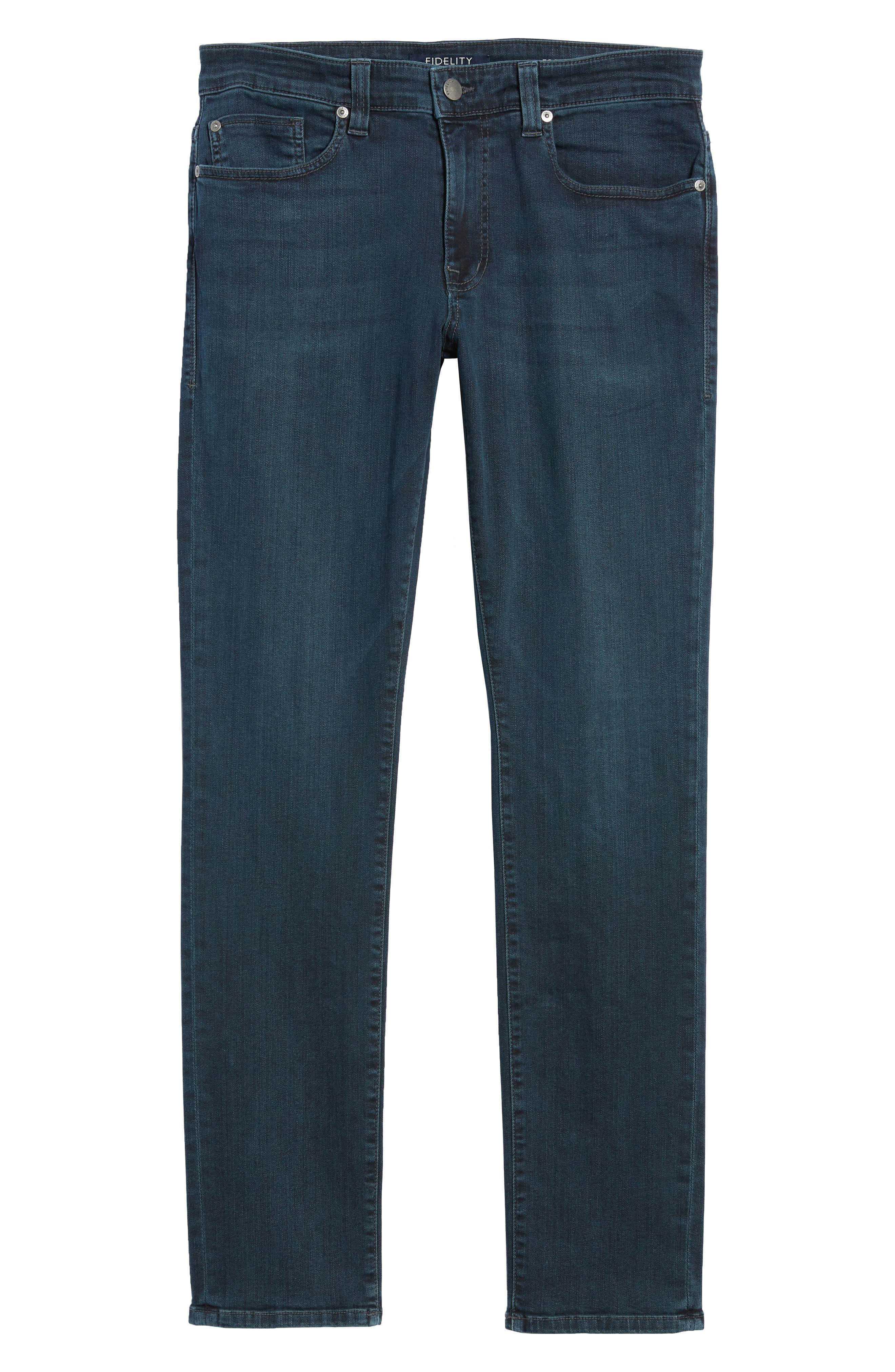 Torino Slim Fit Jeans,                             Alternate thumbnail 6, color,                             Manchester