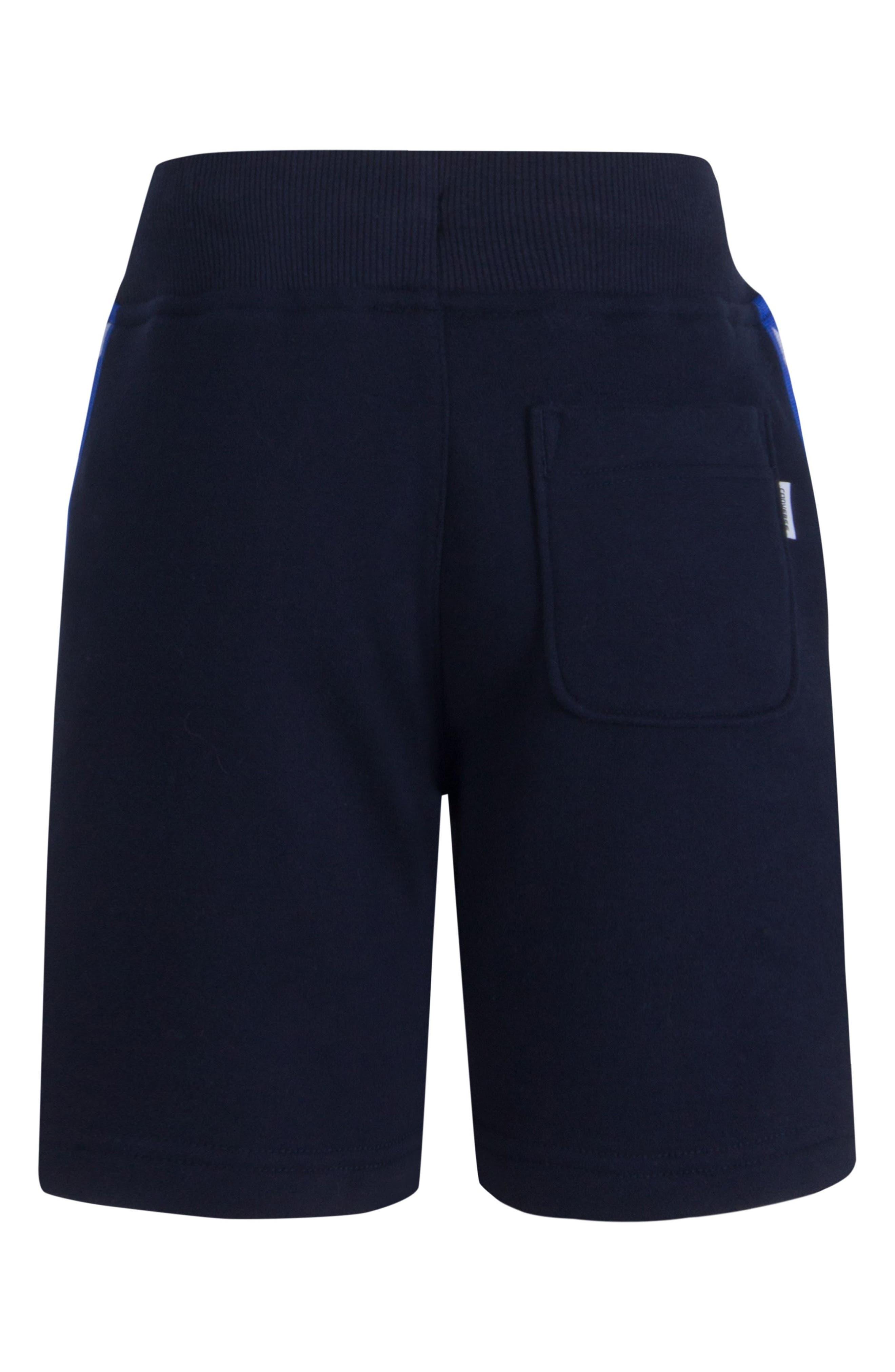Star Knit Shorts,                             Alternate thumbnail 2, color,                             Obsidian