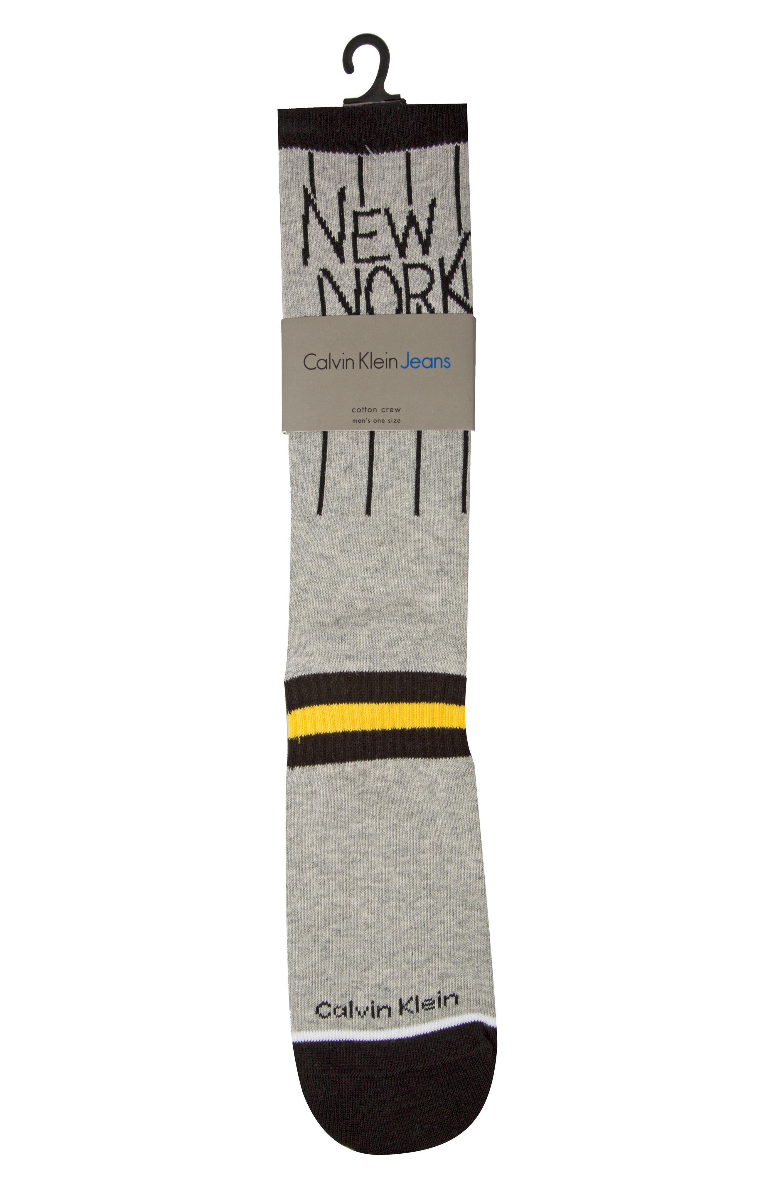 Alternate Image 2  - Calvin Klein Team New York Socks
