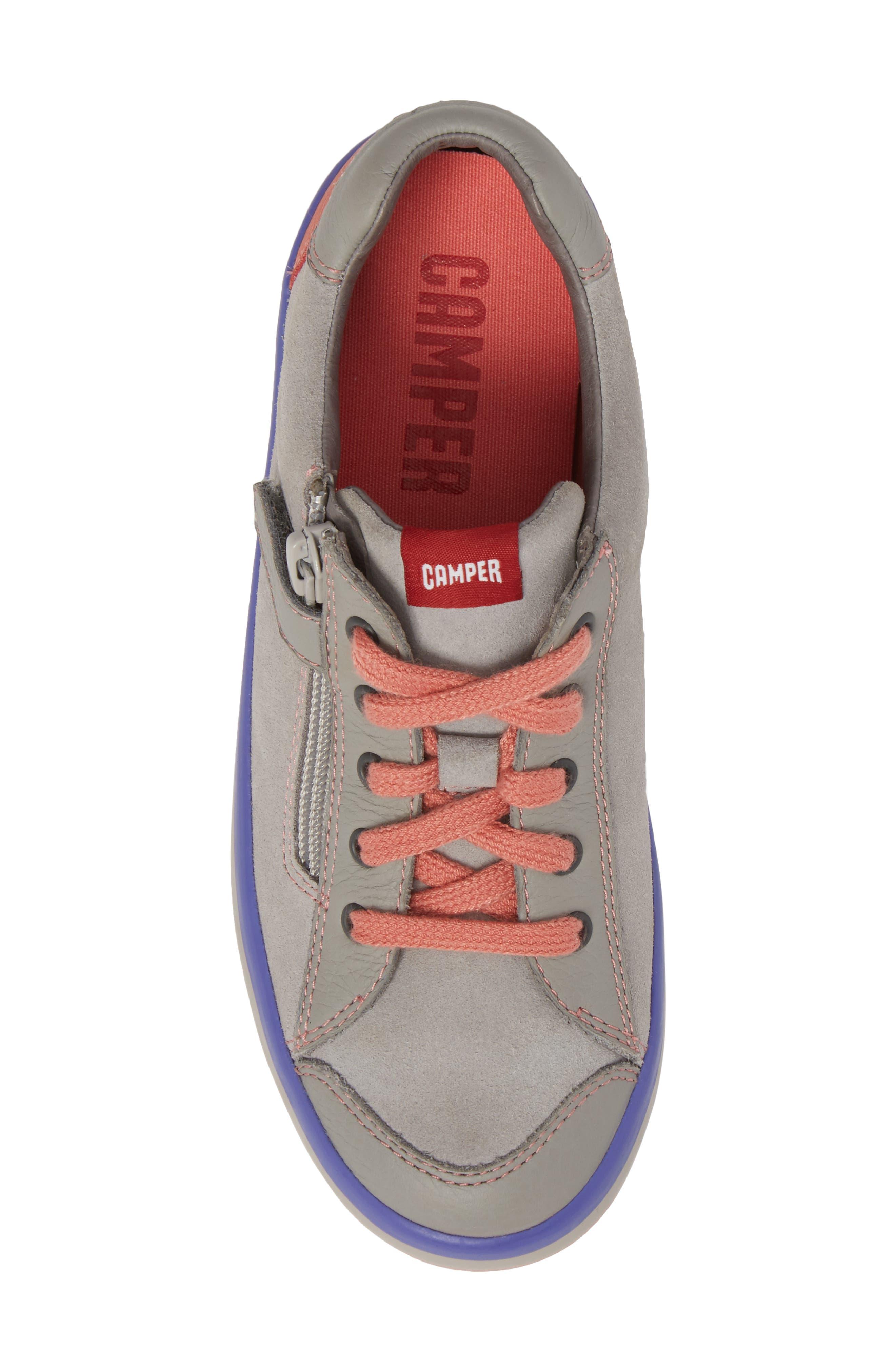 Pursuit Sneaker,                             Alternate thumbnail 5, color,                             Light Grey