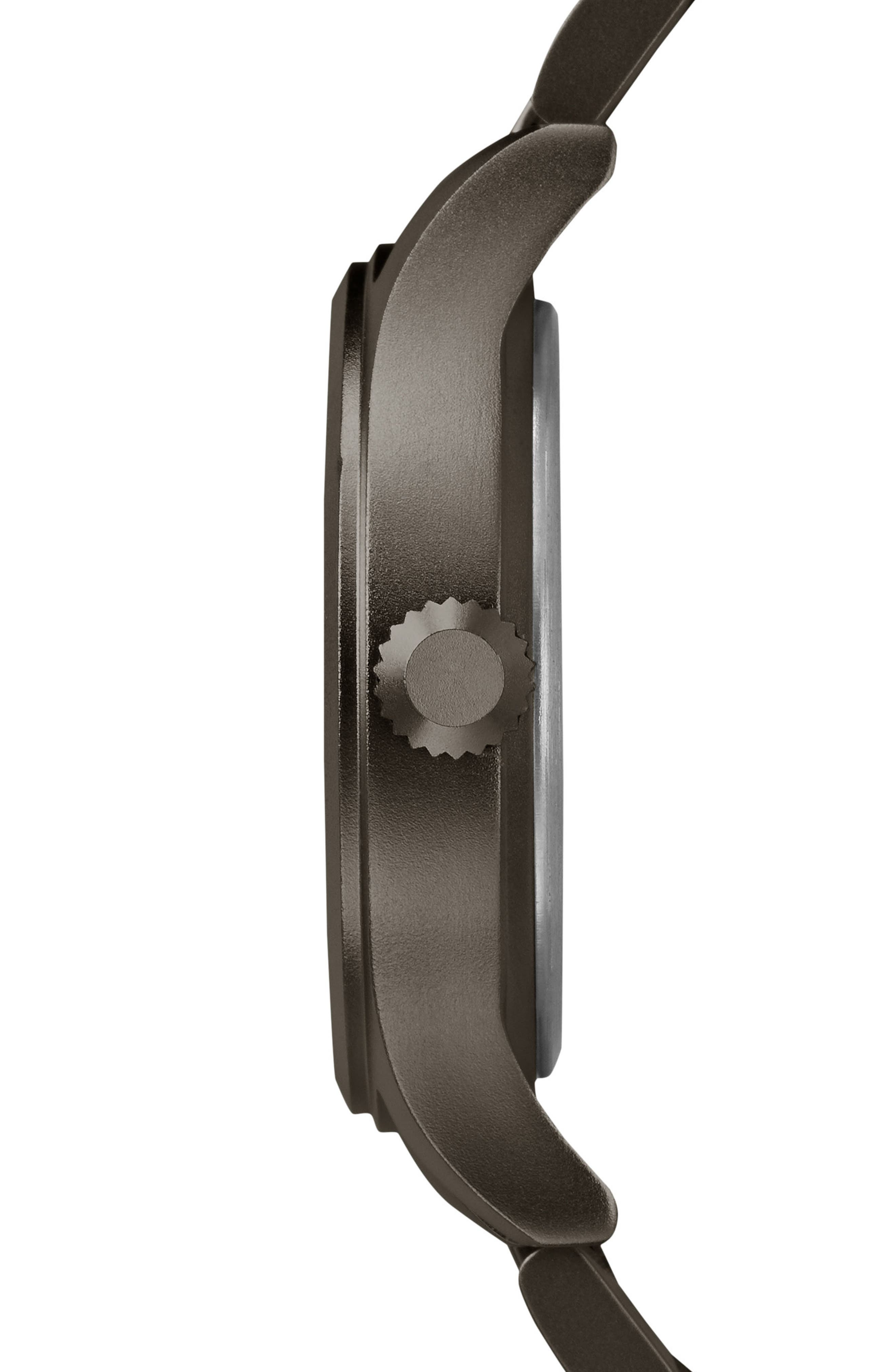 Allied Bracelet Watch, 40mm,                             Alternate thumbnail 3, color,                             Grey
