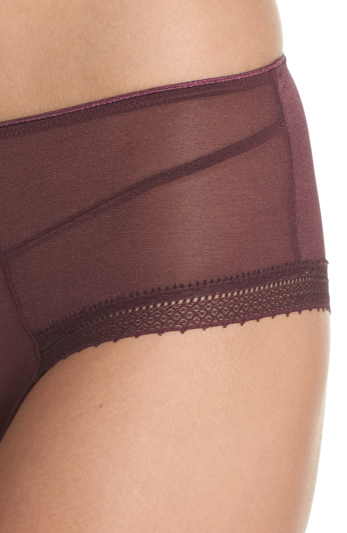 Jet Set Hipster Panties,                             Alternate thumbnail 6, color,                             Garnet