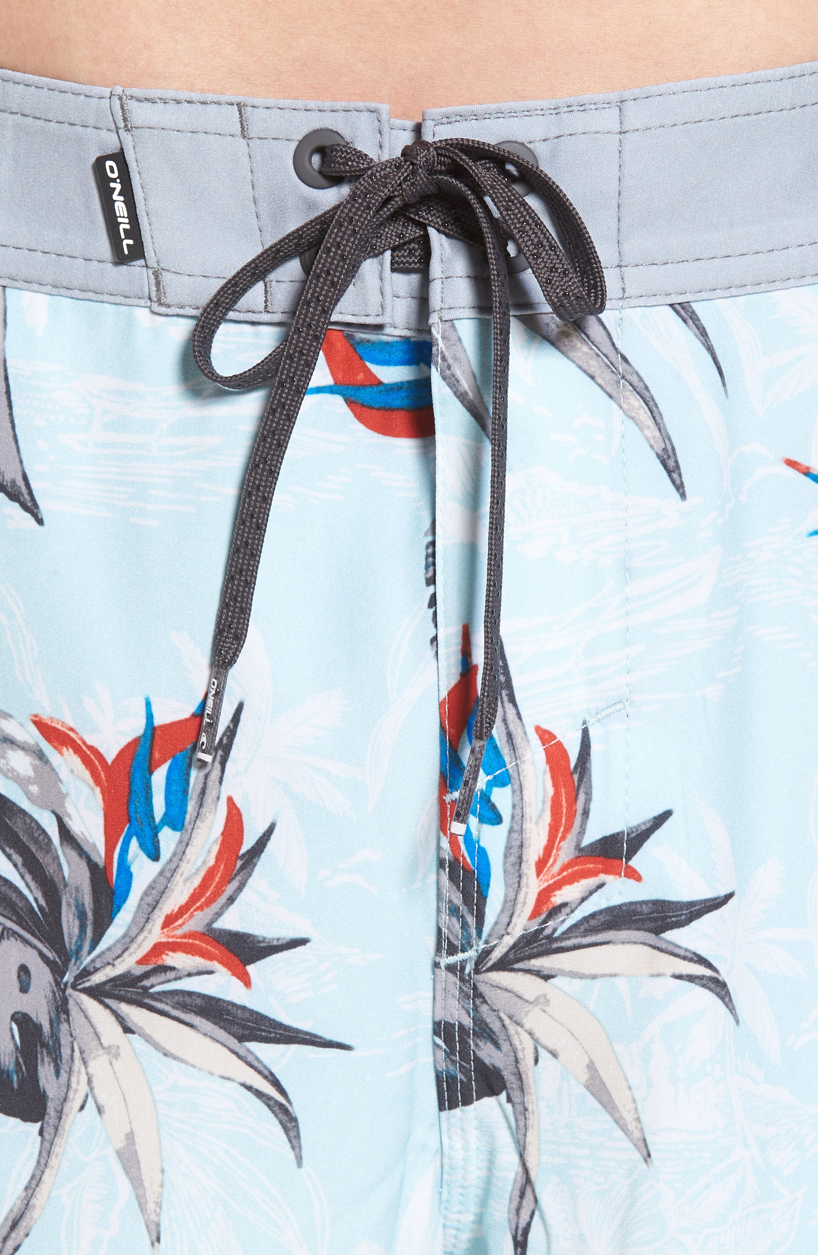 Hyperfreak Islander Board Shorts,                             Alternate thumbnail 4, color,                             Ice Blue