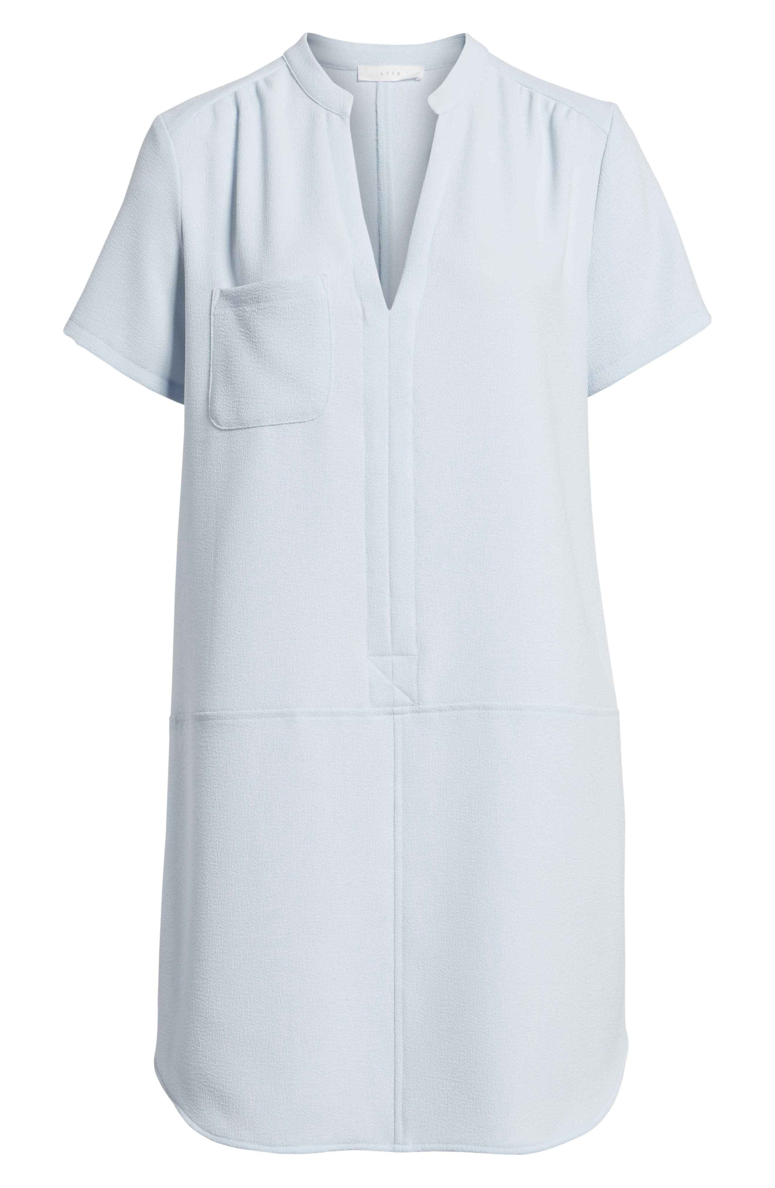 Alternate Image 6  - Hailey Crepe Dress