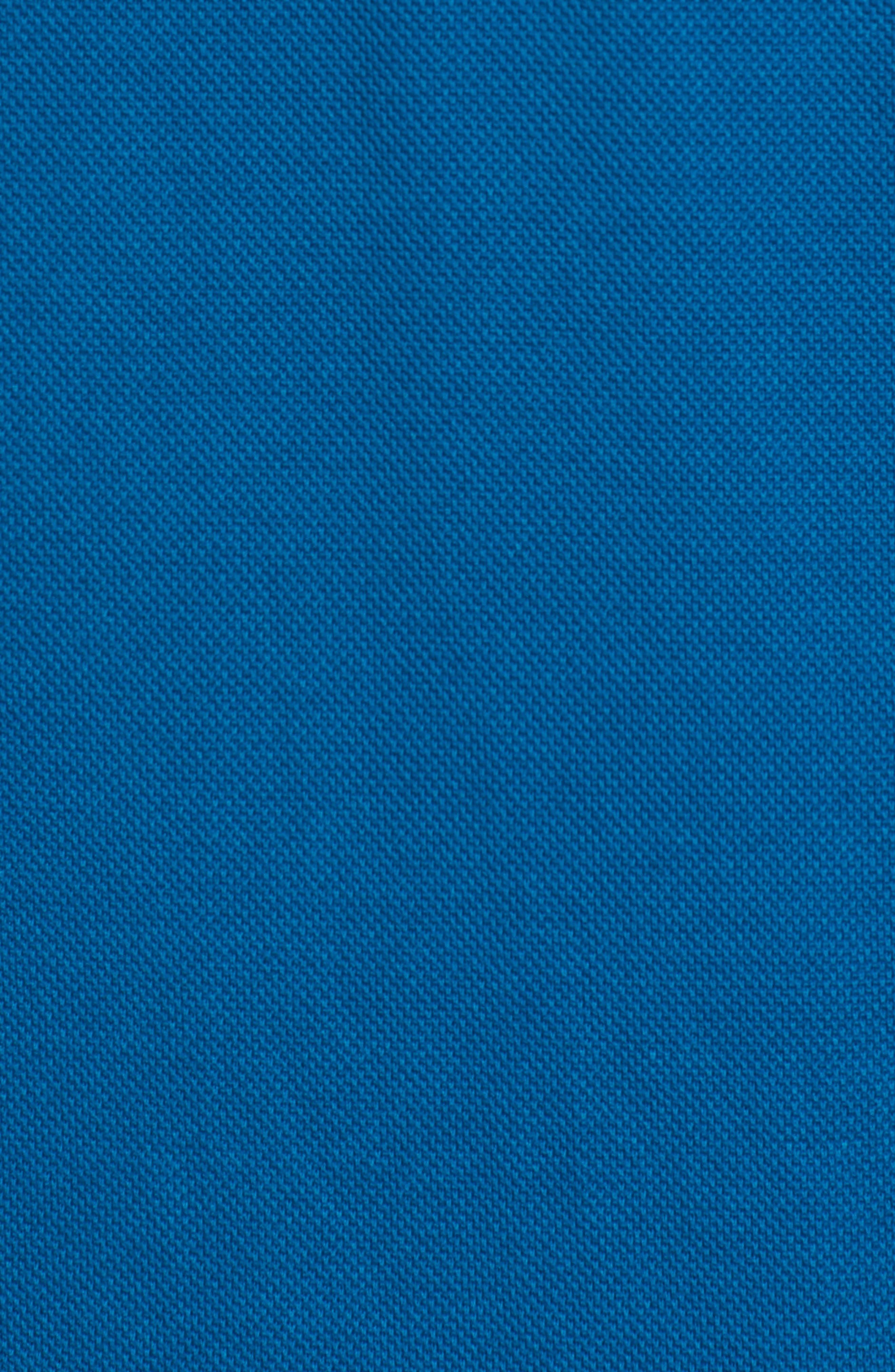 Regular Fit Knit Sport Shirt,                             Alternate thumbnail 5, color,                             Teal