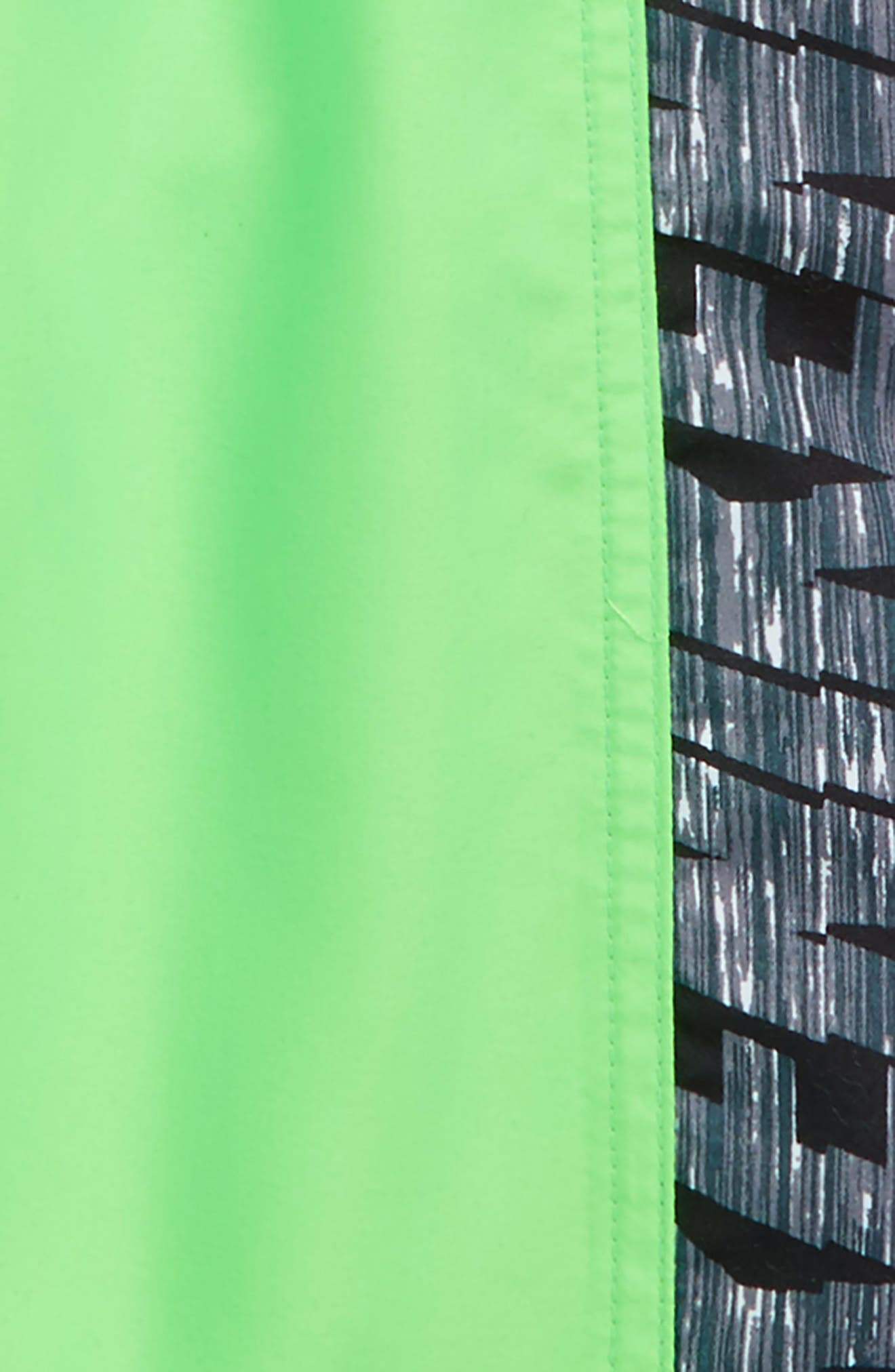Racer Volley Shorts,                             Alternate thumbnail 2, color,                             Green Strike