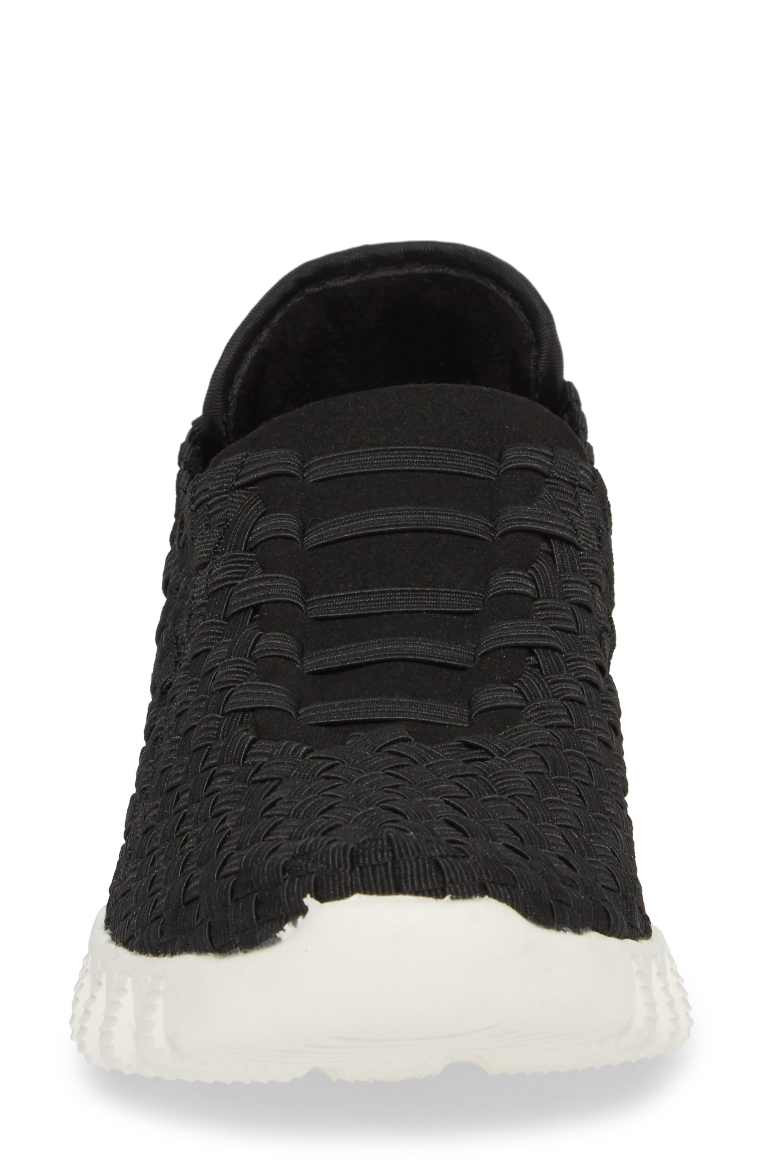 Vivaldi Slip-On Sneaker,                             Alternate thumbnail 4, color,                             Black