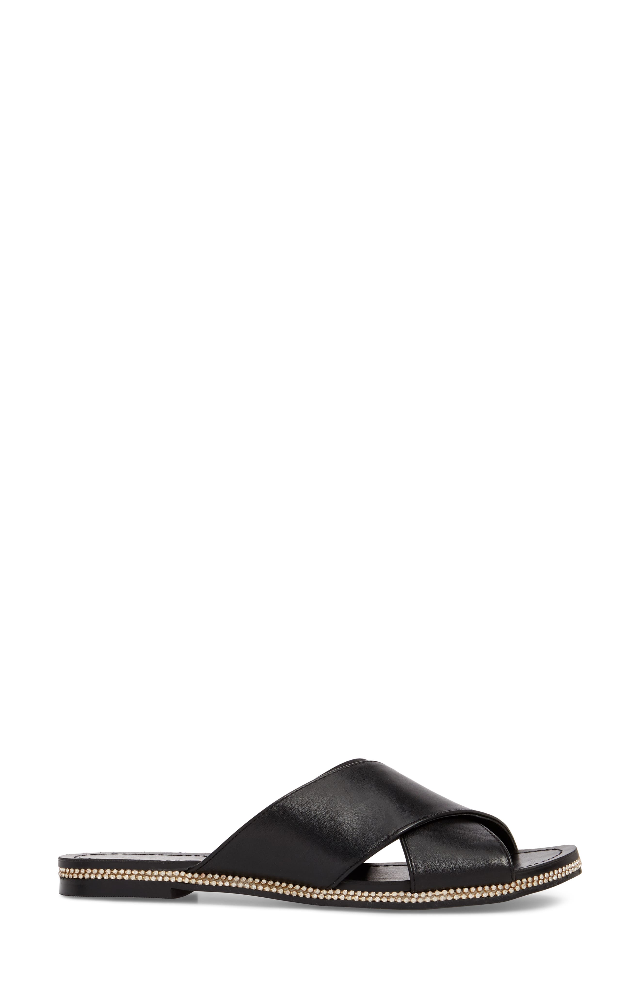 Brinella Sandal,                             Alternate thumbnail 3, color,                             Black