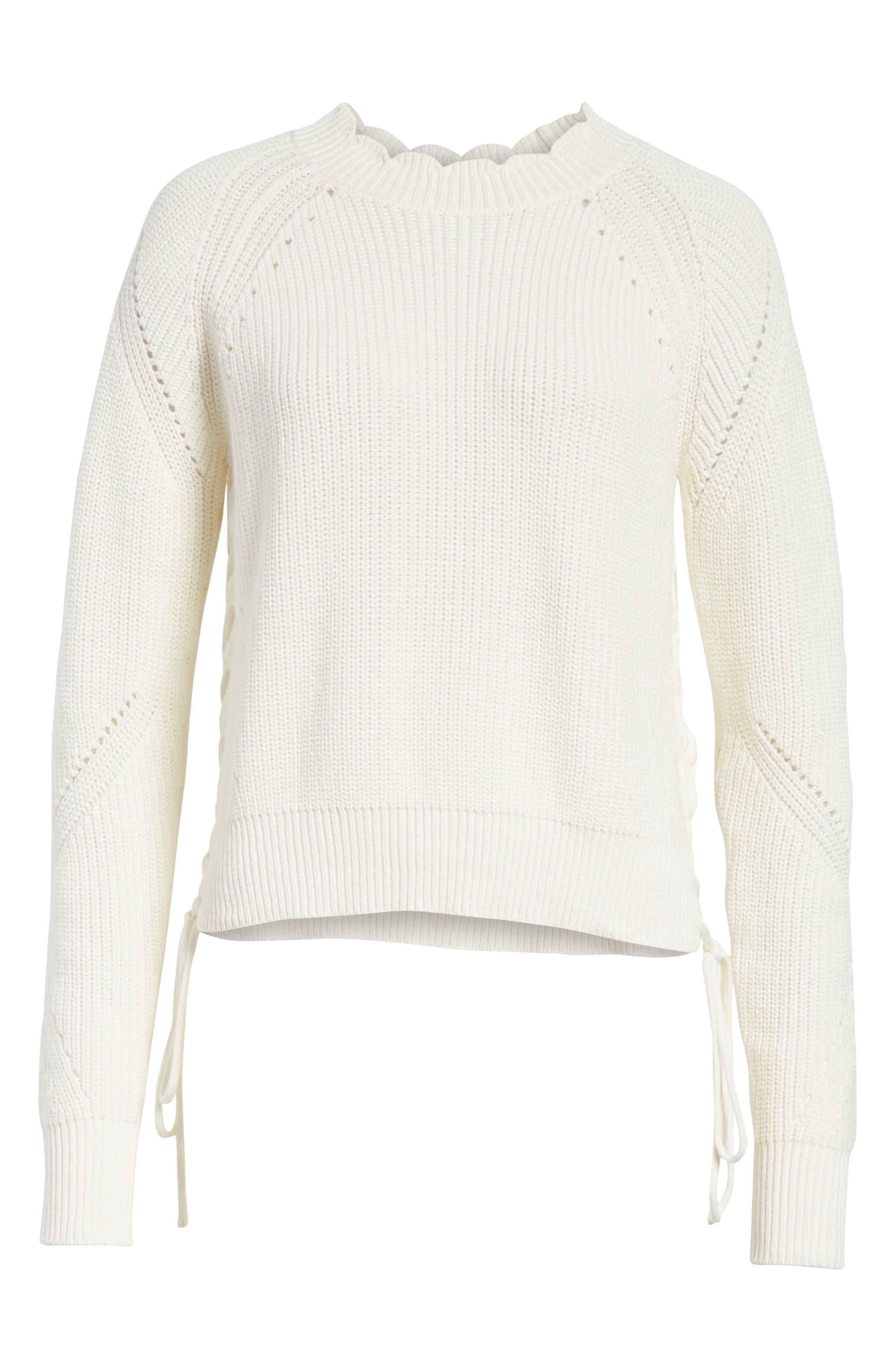 Adanya Sweater,                             Alternate thumbnail 6, color,                             Porcelain