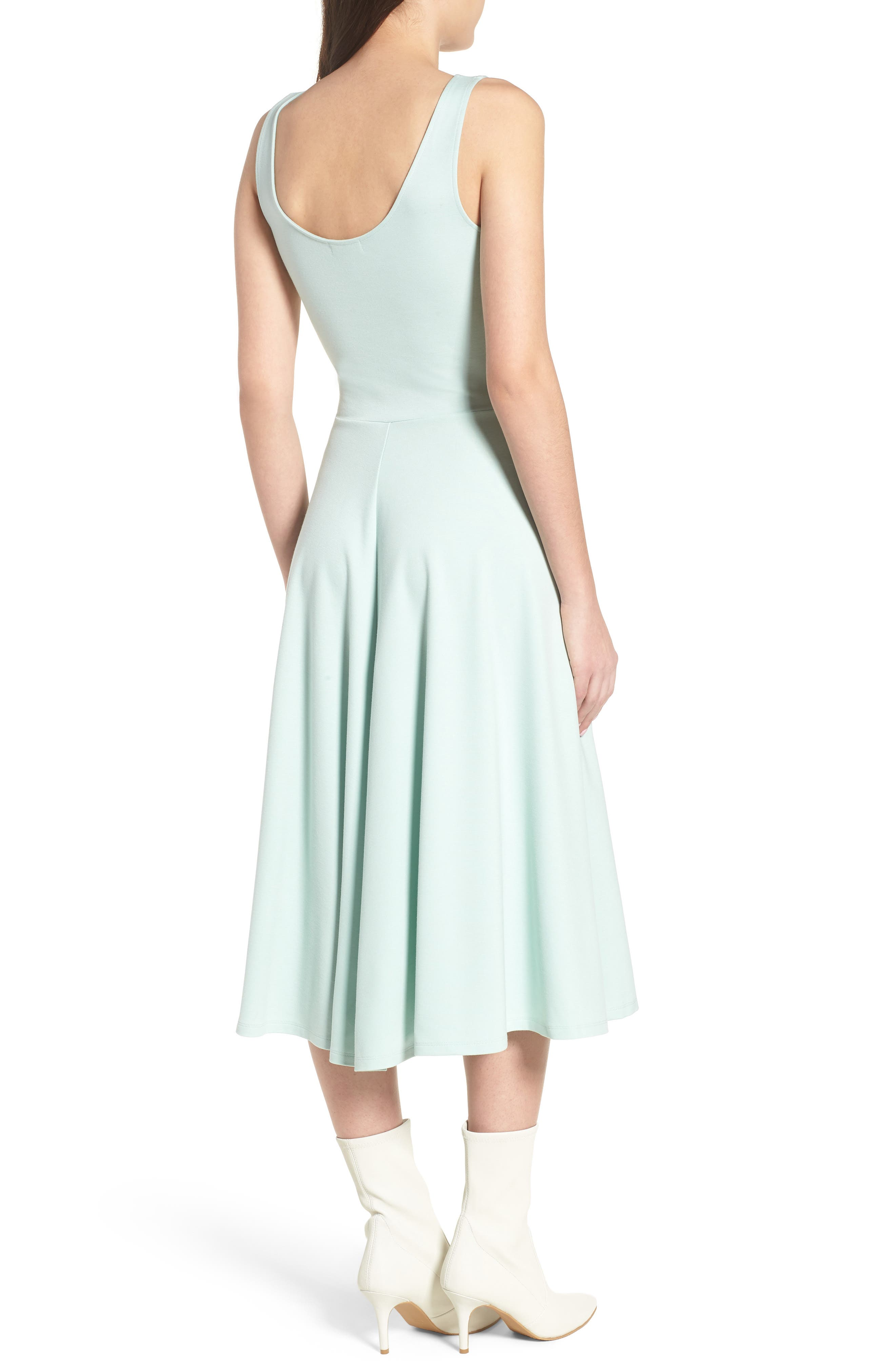 Alternate Image 2  - Leith Stretch Knit Midi Dress