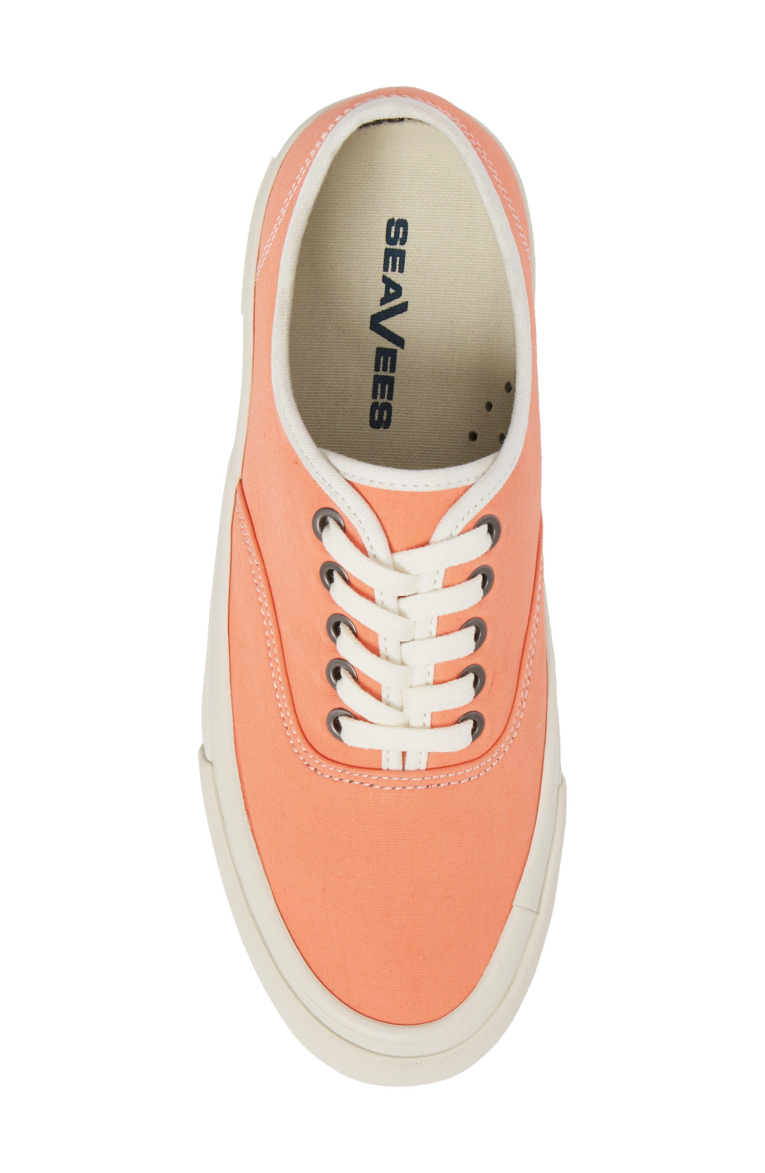Legend Standard Sneaker,                             Alternate thumbnail 5, color,                             Coral