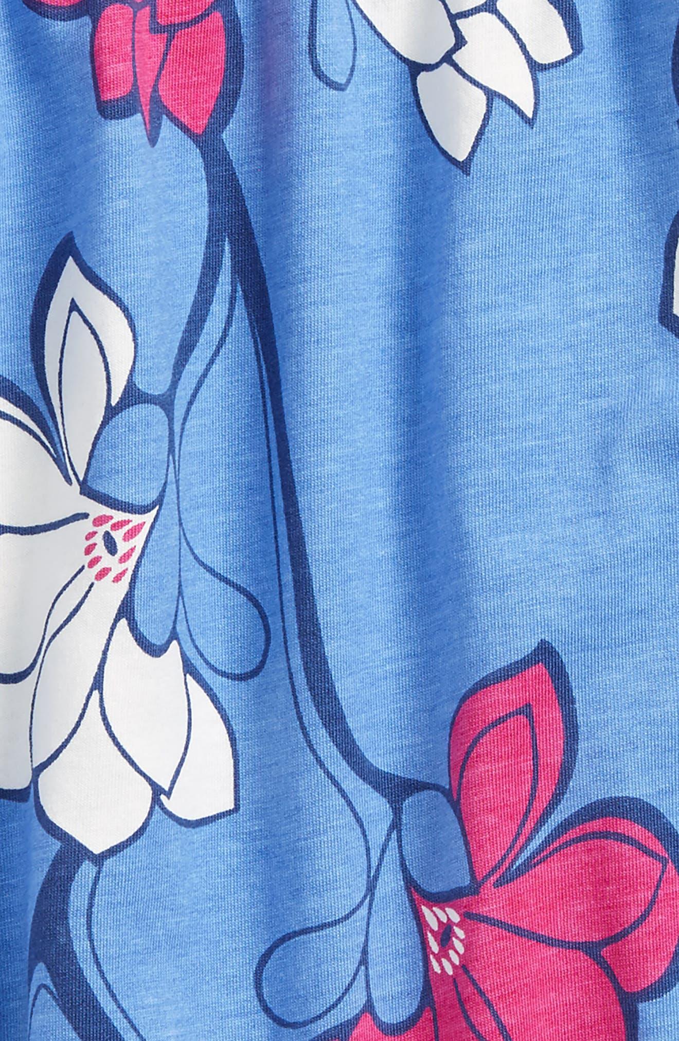 Smocked Romper,                             Alternate thumbnail 2, color,                             Magnolia Flower