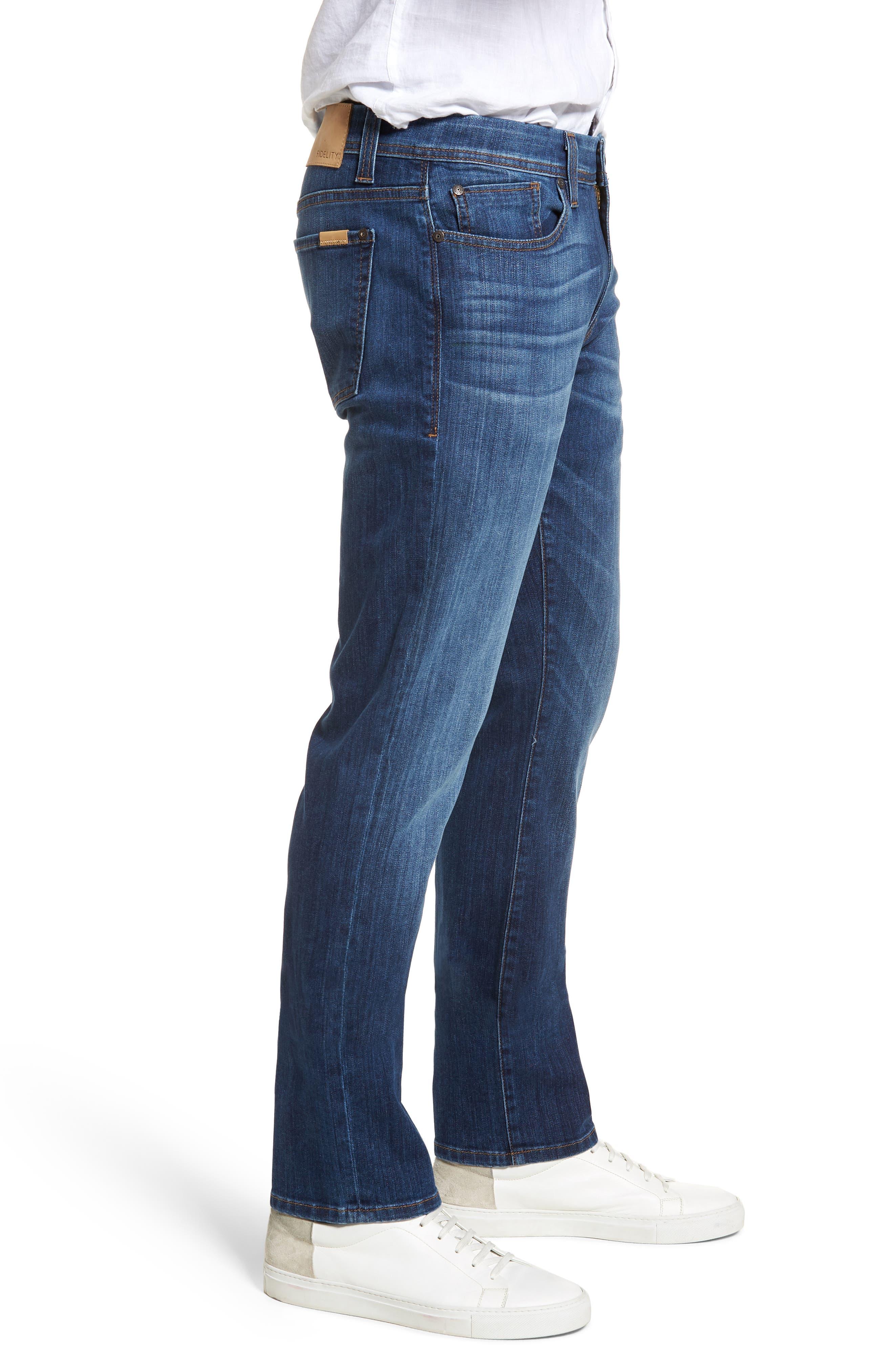 Jimmy Slim Straight Leg Jeans,                             Alternate thumbnail 3, color,                             Liverpool