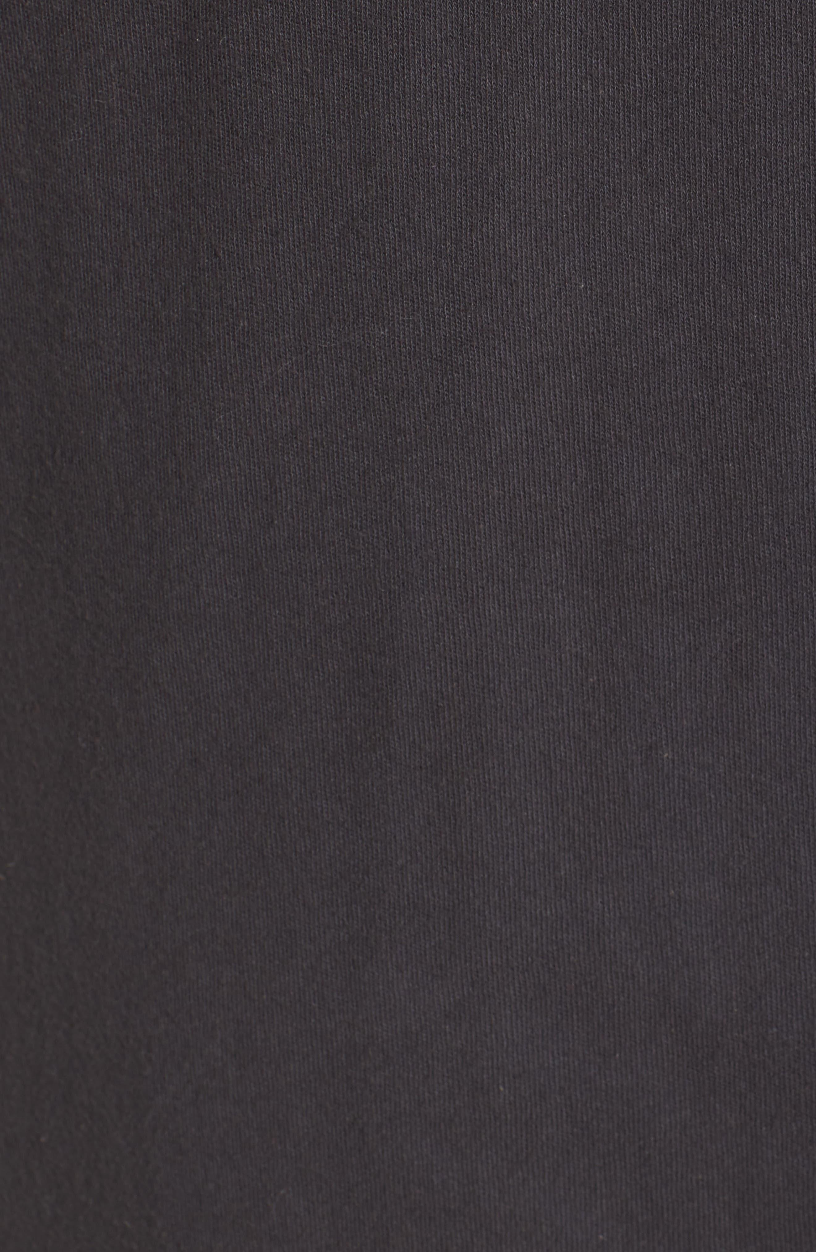 Hoodie Cardigan,                             Alternate thumbnail 6, color,                             Carbon
