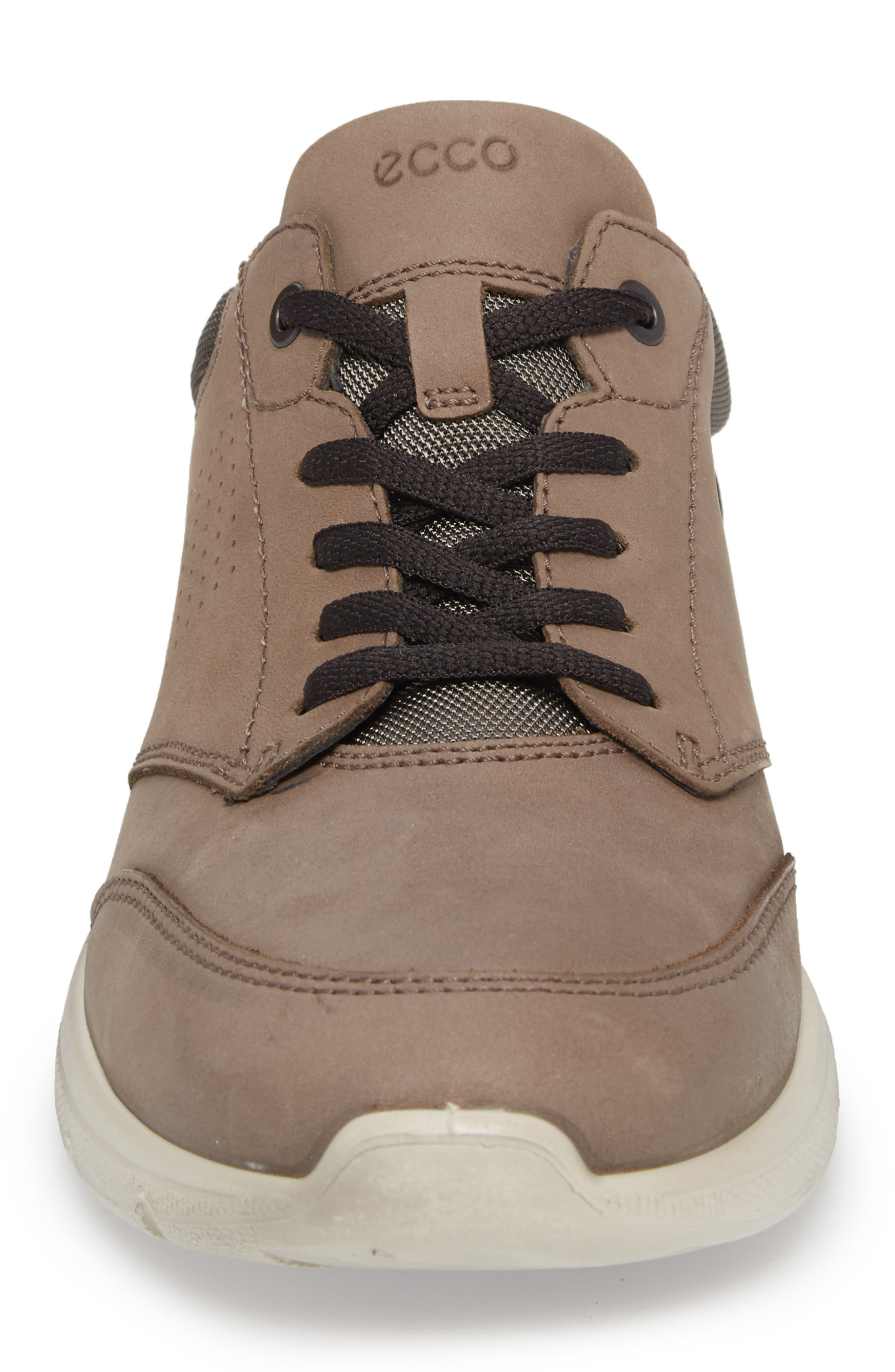 Irving Sneaker,                             Alternate thumbnail 4, color,                             Dark Clay Leather