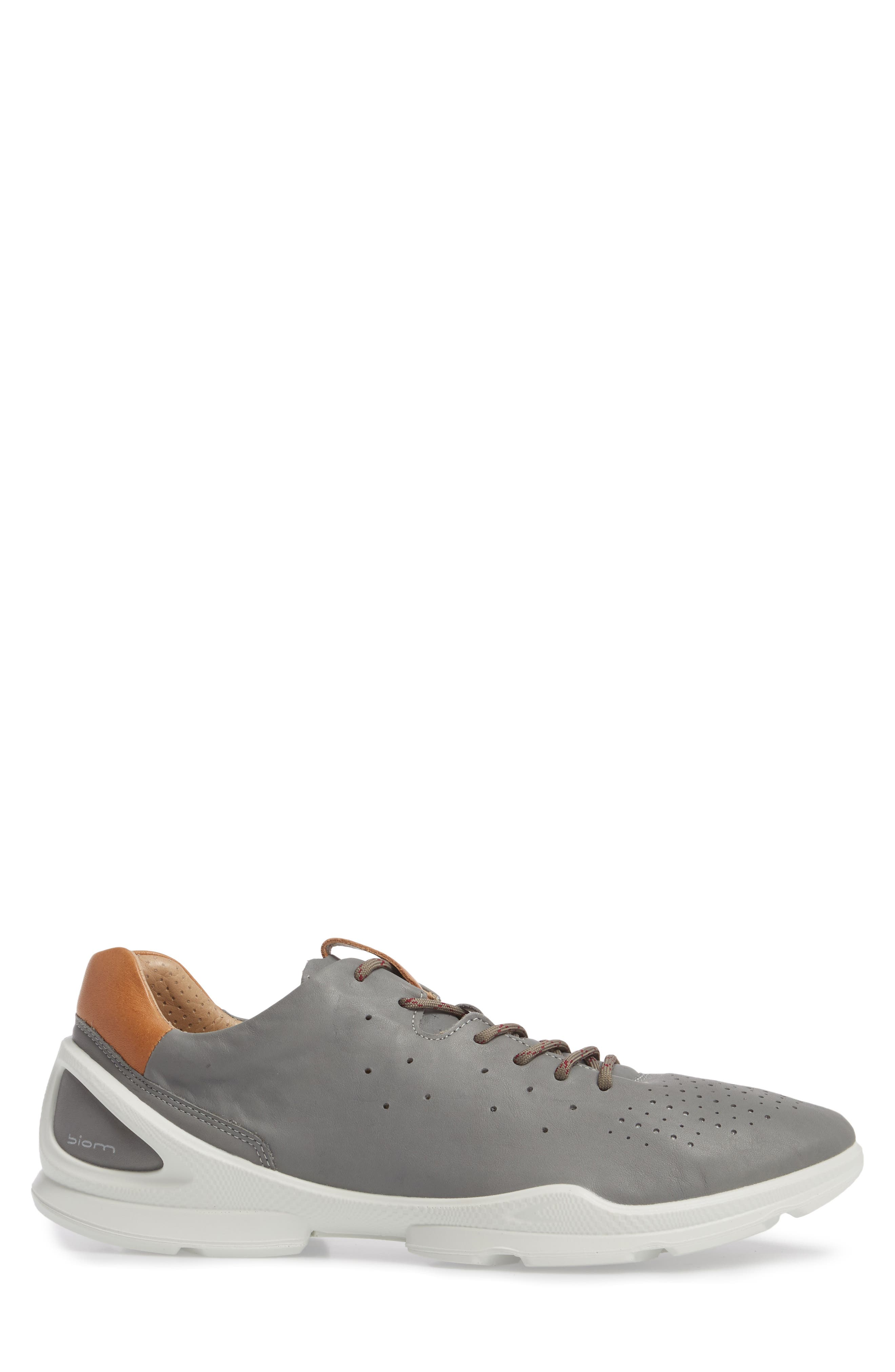 Biom Street Sneaker,                             Alternate thumbnail 3, color,                             Wild Dove Leather