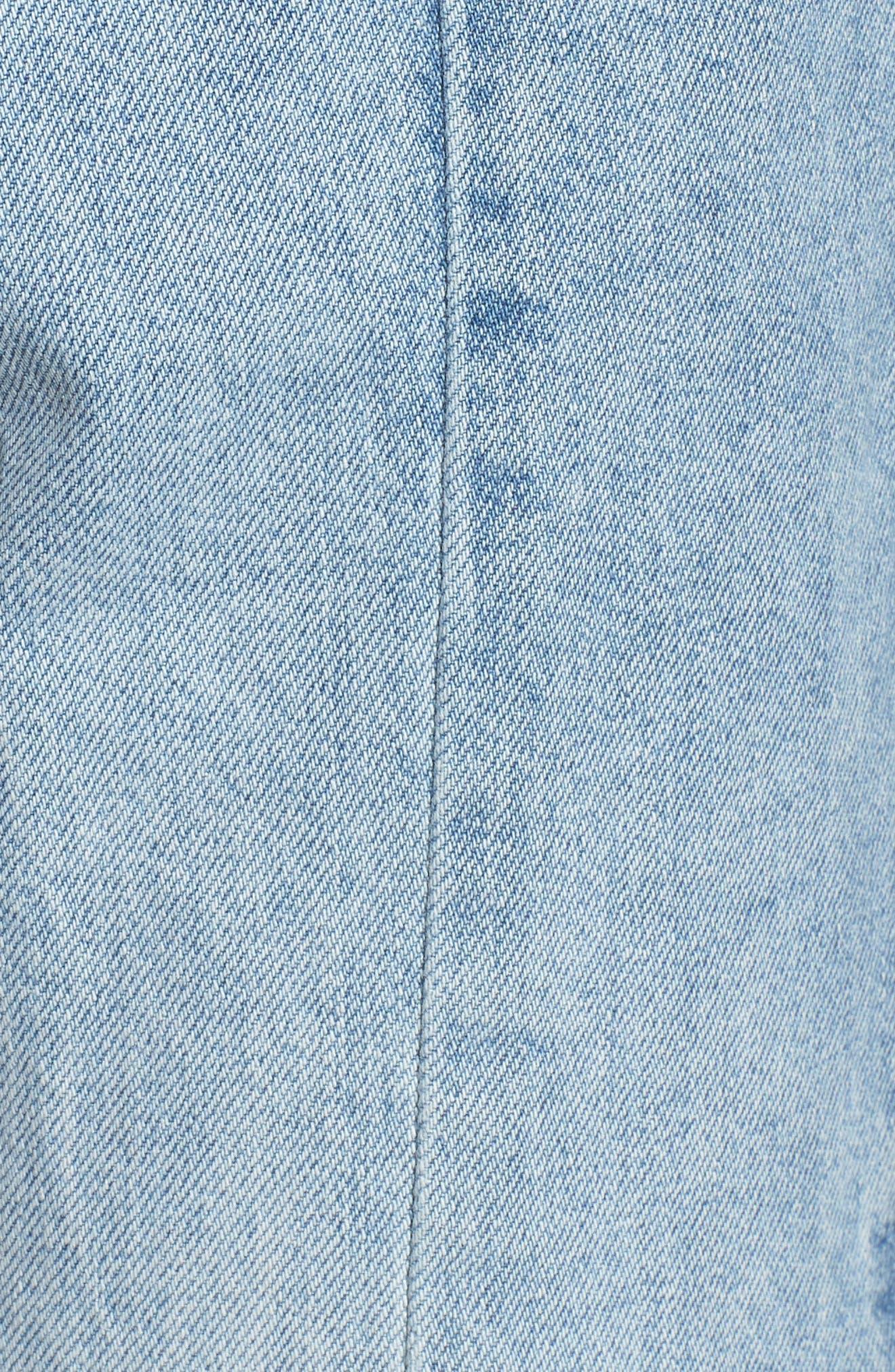 Hepburn High Waist Wide Leg Jeans,                             Alternate thumbnail 7, color,                             Oldtown