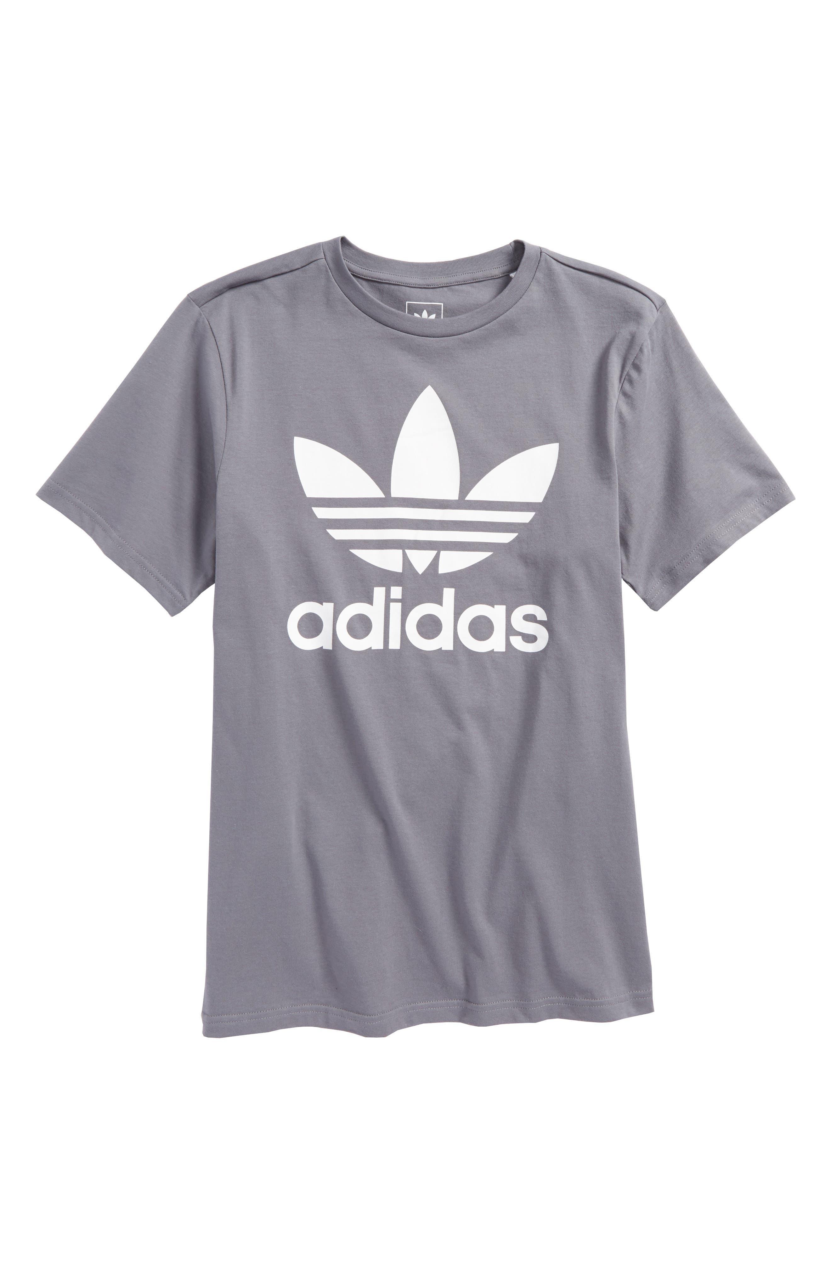 adidas Trefoil Logo T-Shirt (Little Boys & Big Boys)
