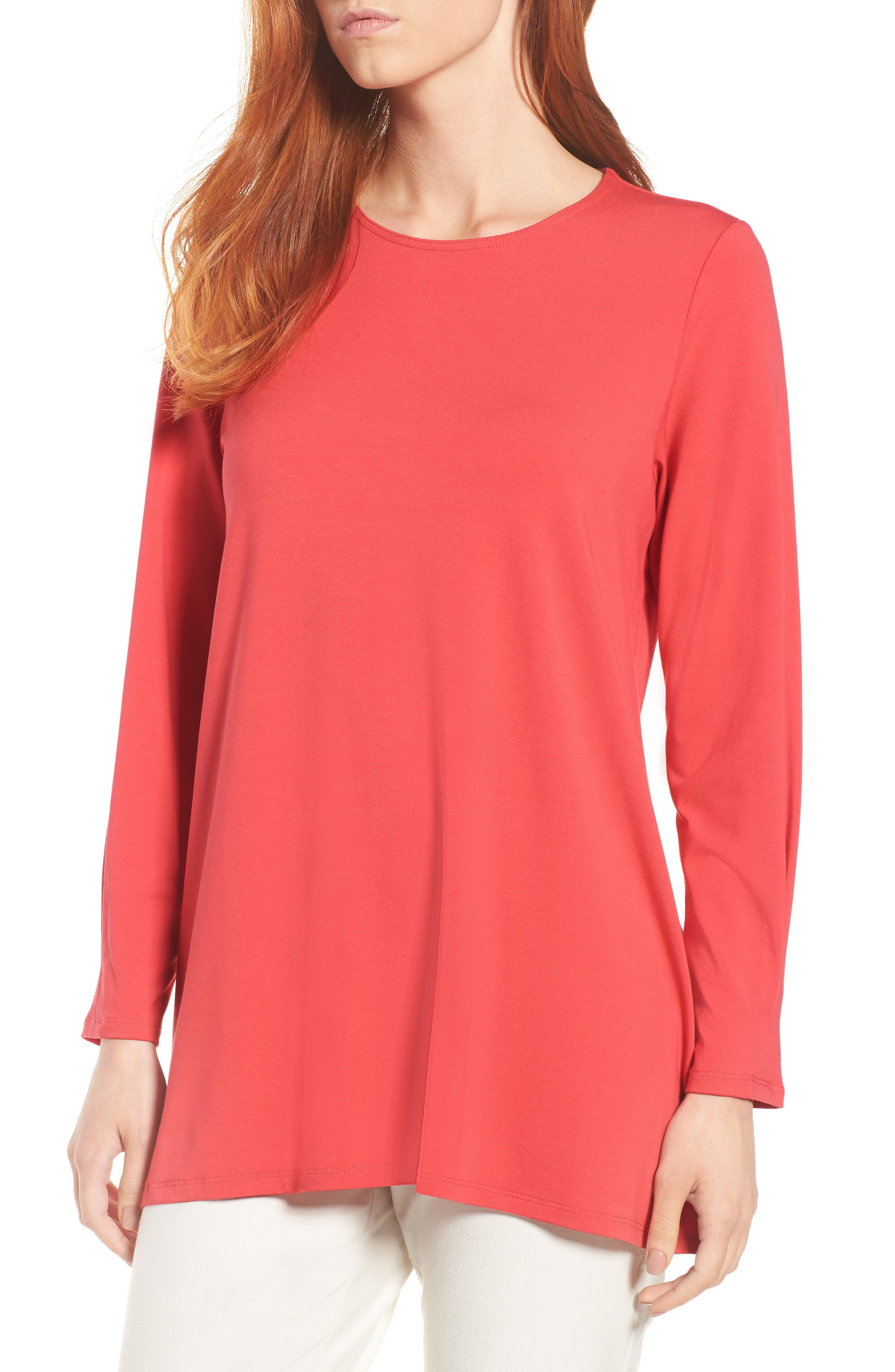 Eileen Fisher Jersey Top (Regular & Petite)